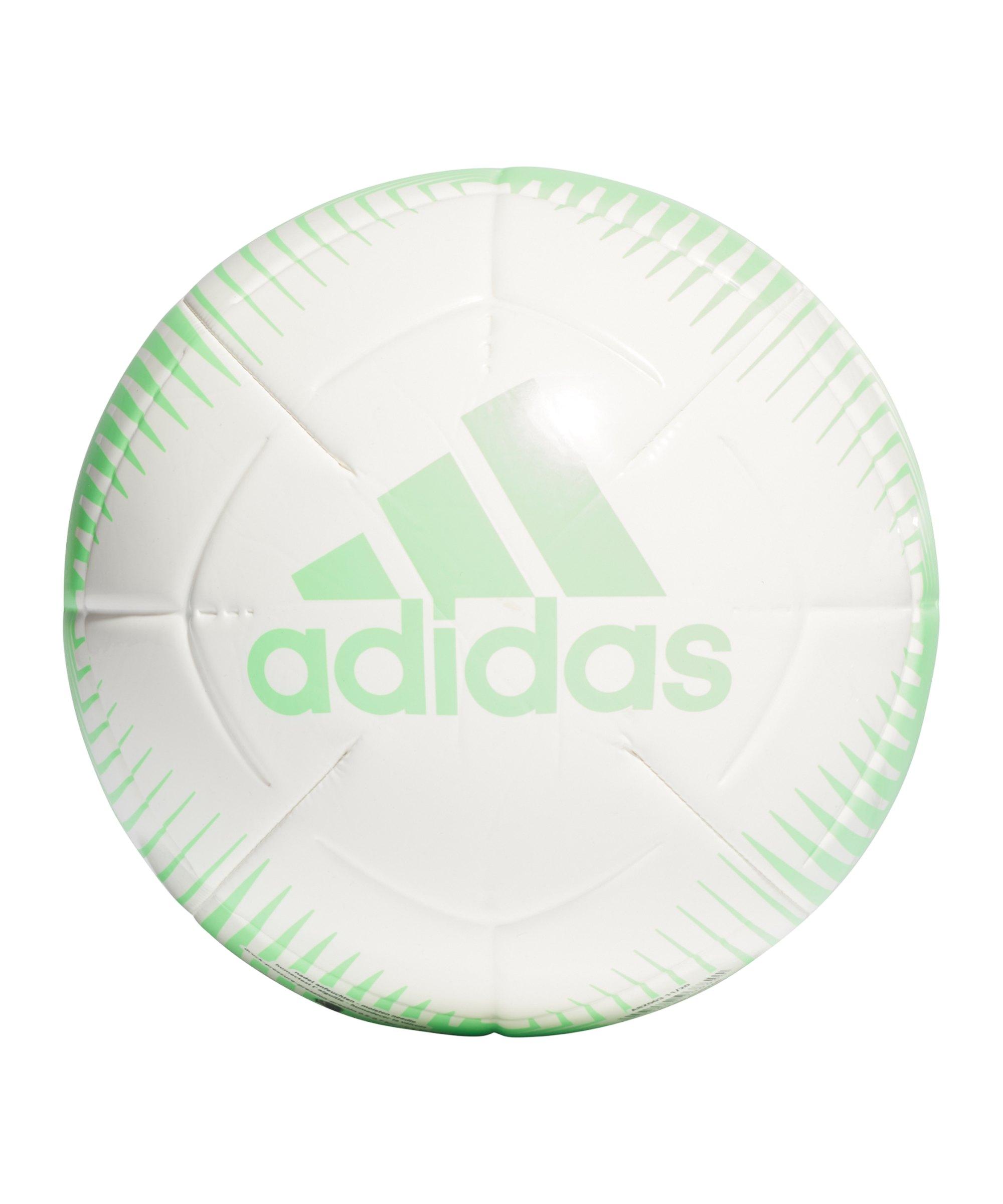 adidas EPP CLB Trainingsball Grün Weiss - gruen