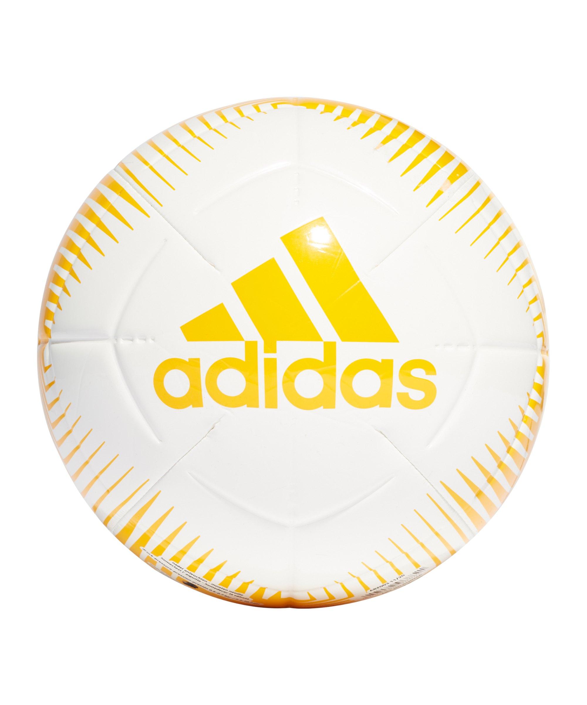 adidas EPP CLB Trainingsball Gelb Weiss - gelb