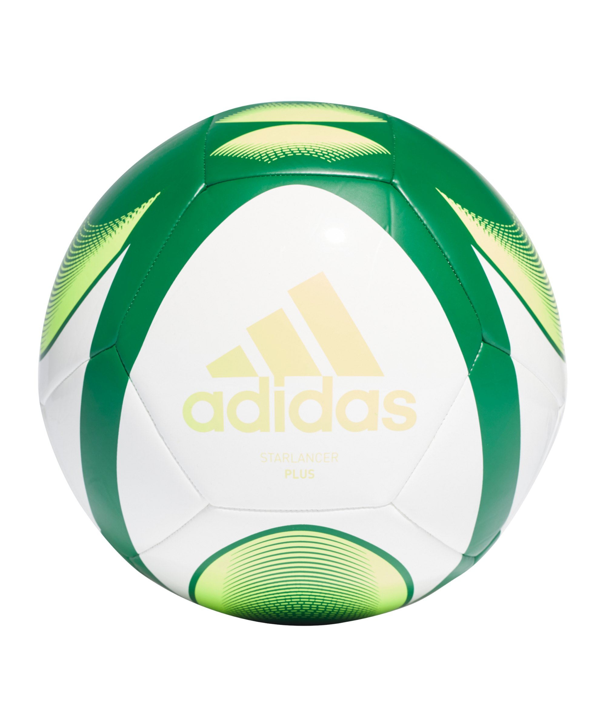adidas Starlancer Plus Fussball Weiss Grün - weiss