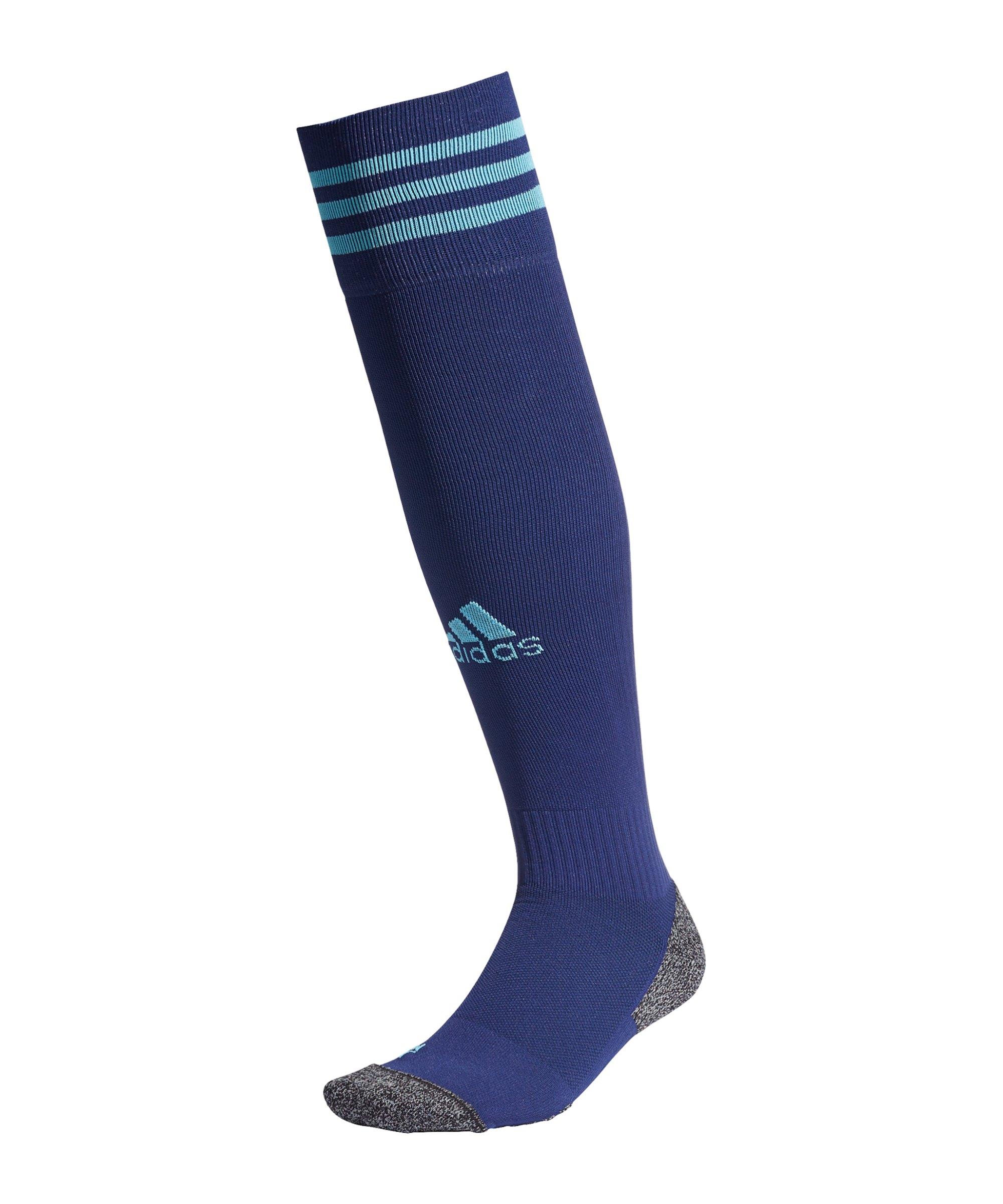 adidas Adisock 21 Strumpfstutzen Blau - blau