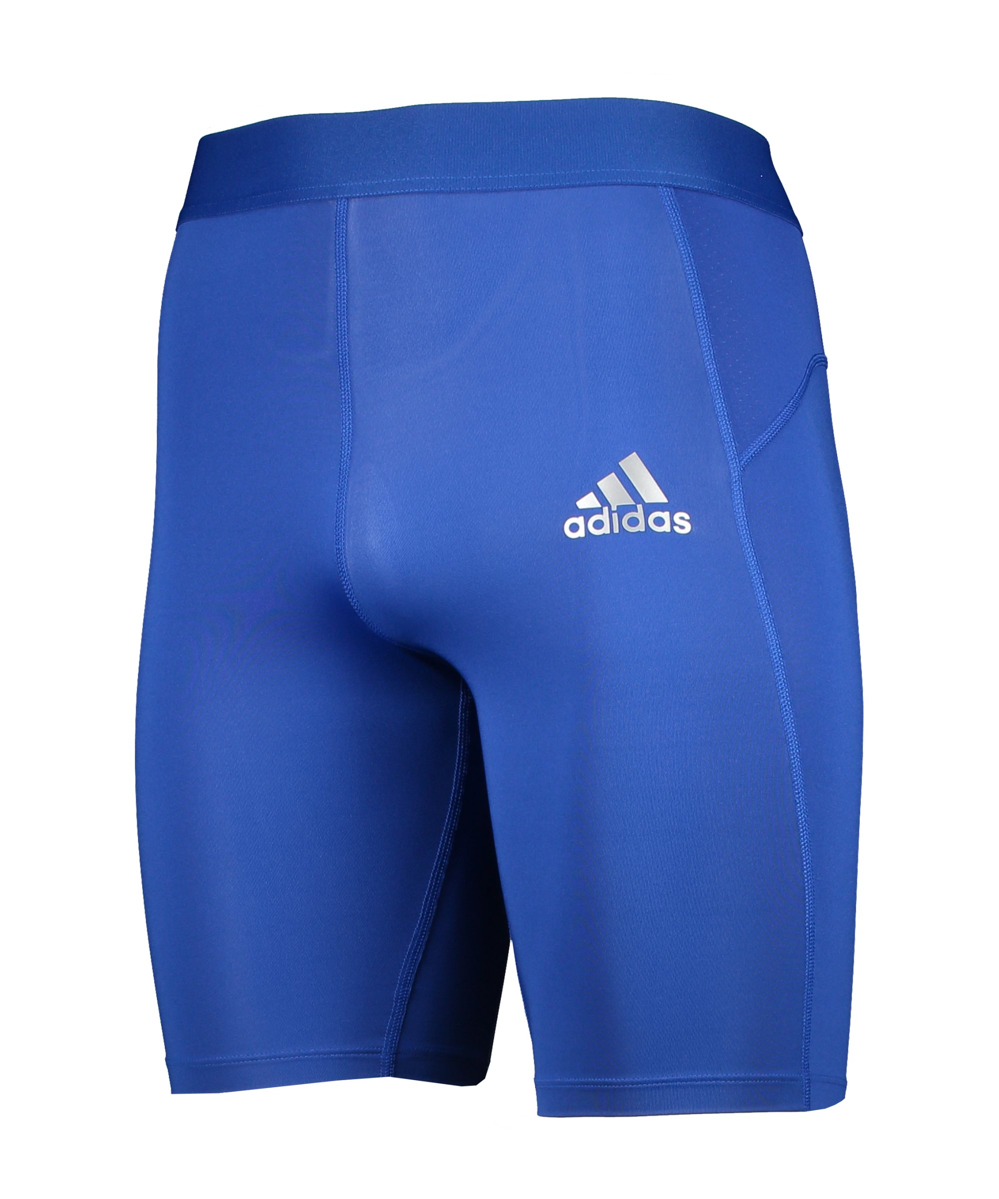 adidas Techfit Short Blau - blau