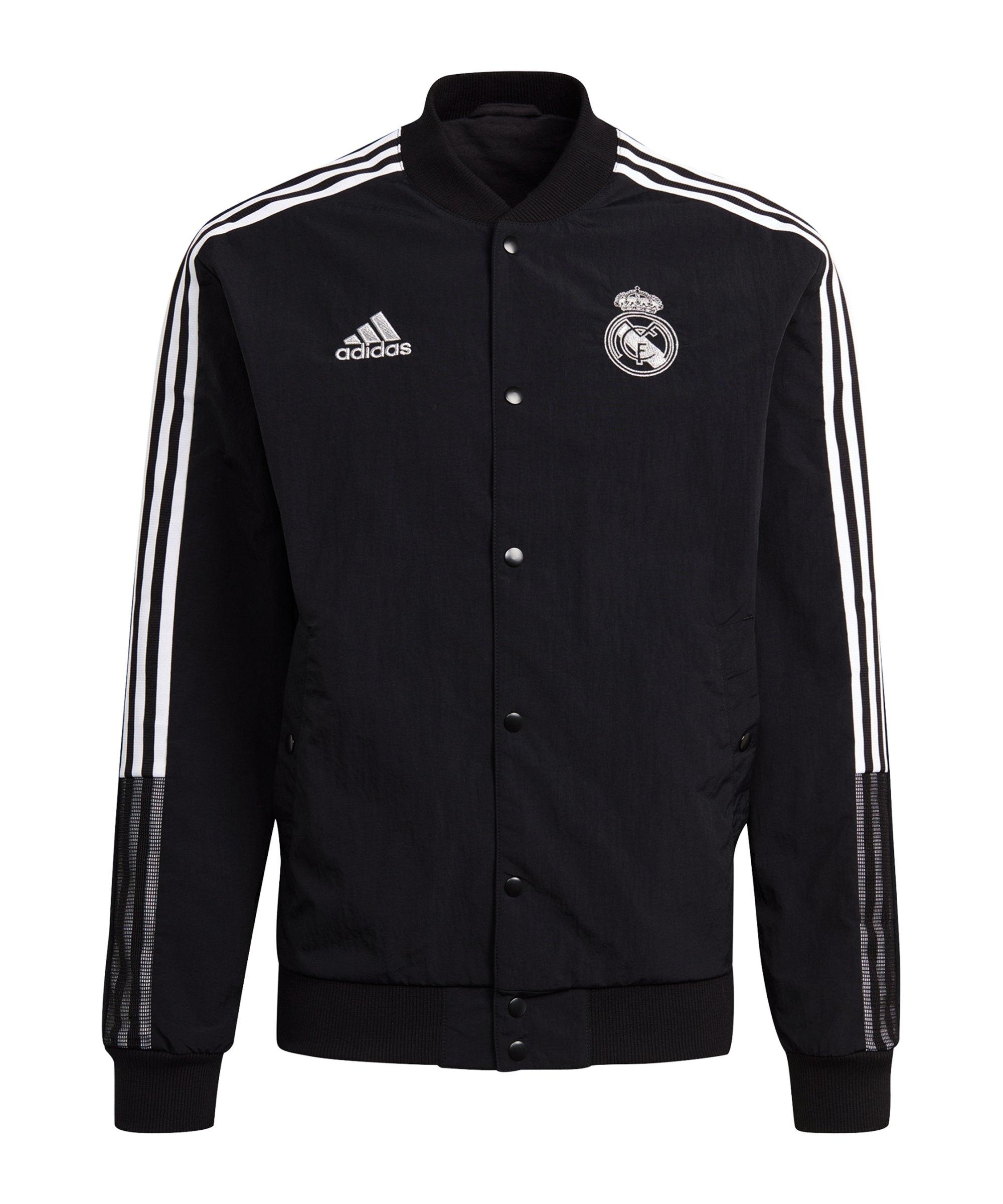adidas Real Madrid CNY Bomberjacke Schwarz - schwarz