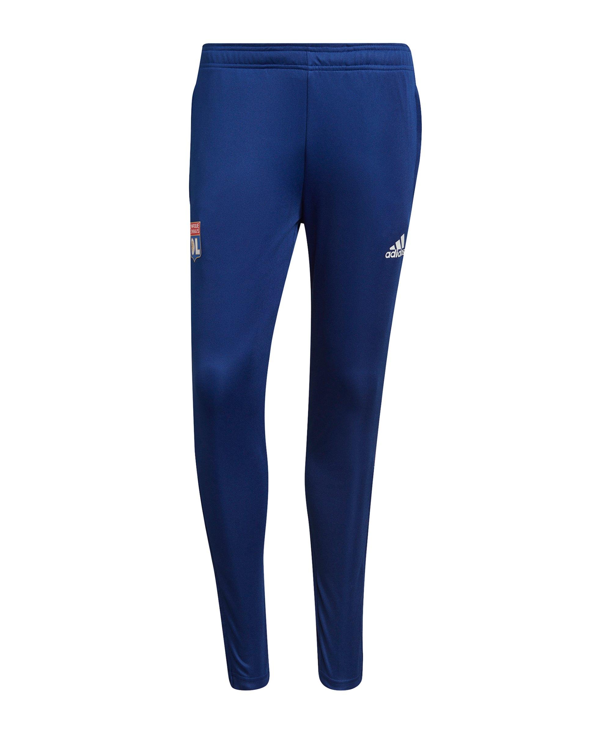 adidas Olympique Lyon Trainingshose Blau - blau