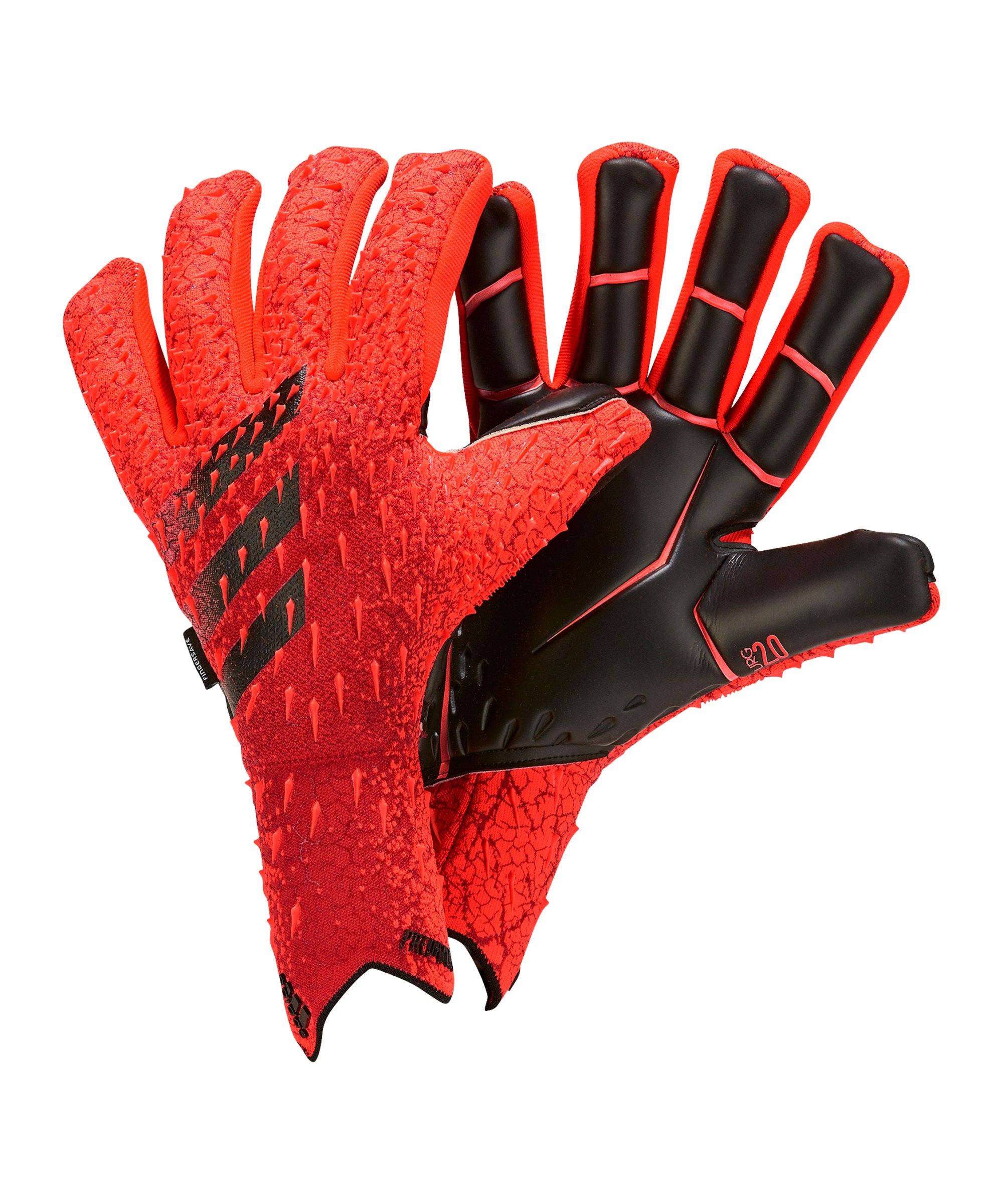 adidas Predator Pro FS Meteorite Torwarthandschuh Rot - rot