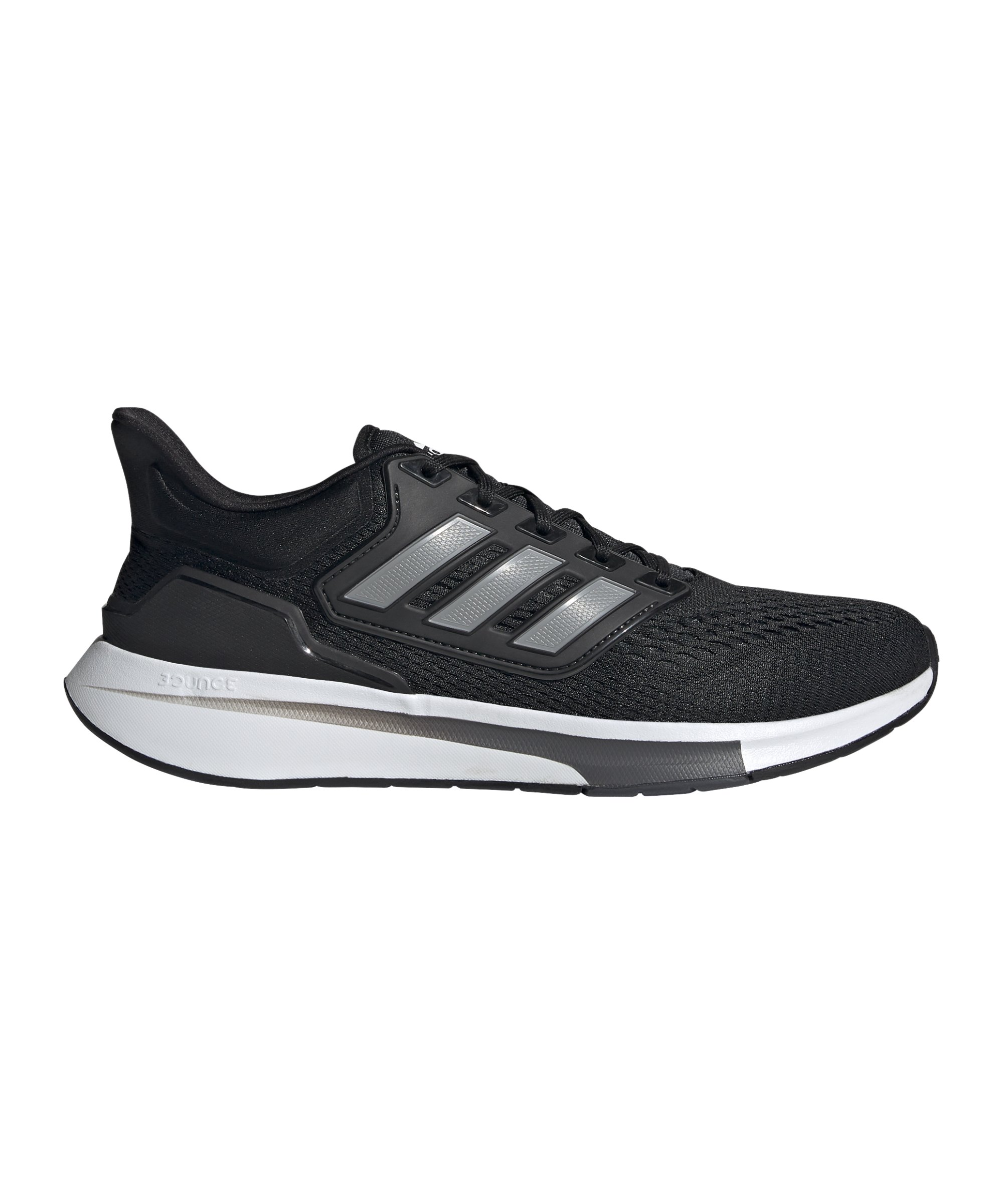 adidas EQ21 Running Schwarz Grau - schwarz
