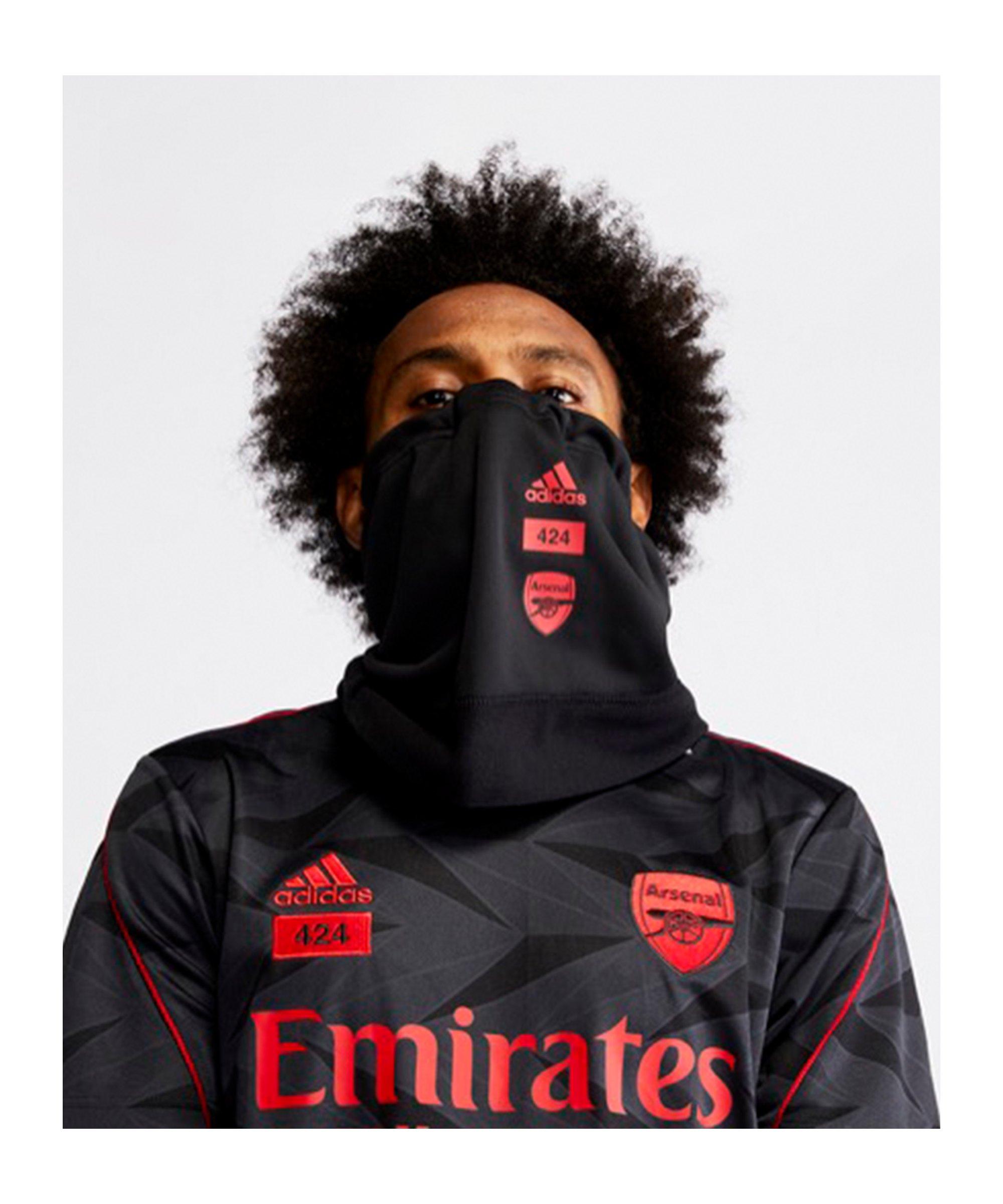 adidas FC Arsenal London x 424 Neckwarmer Schwarz - schwarz