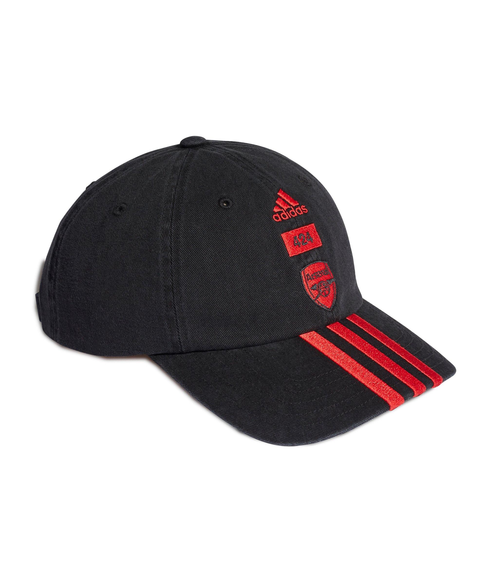 adidas FC Arsenal London x 424 Cap Schwarz - schwarz