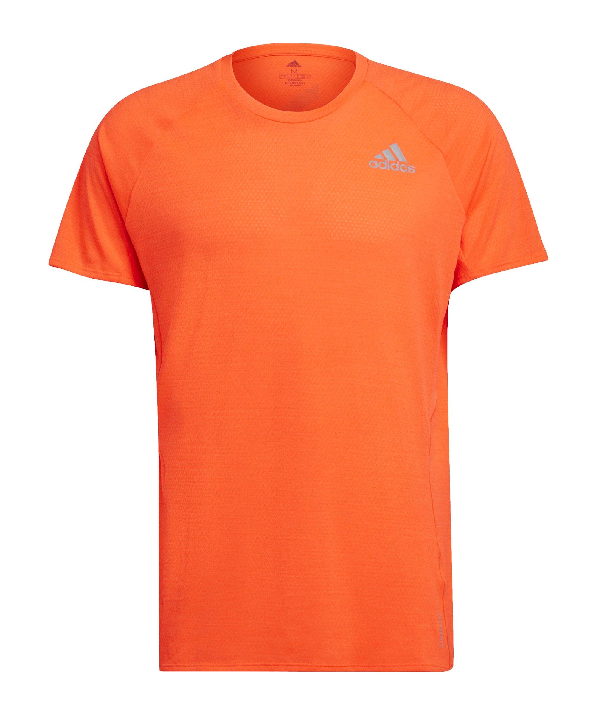 adidas Adi Runner T-Shirt Running Rot - rot