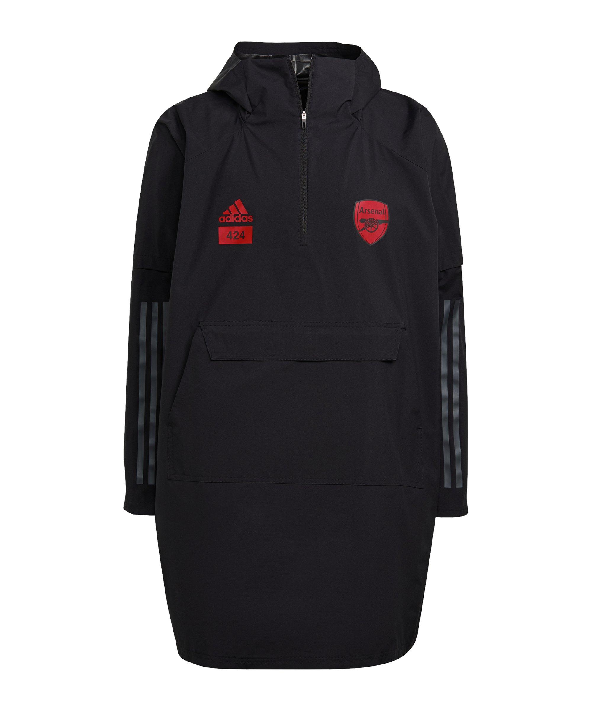 adidas FC Arsenal London x 424 Poncho Schwarz - schwarz