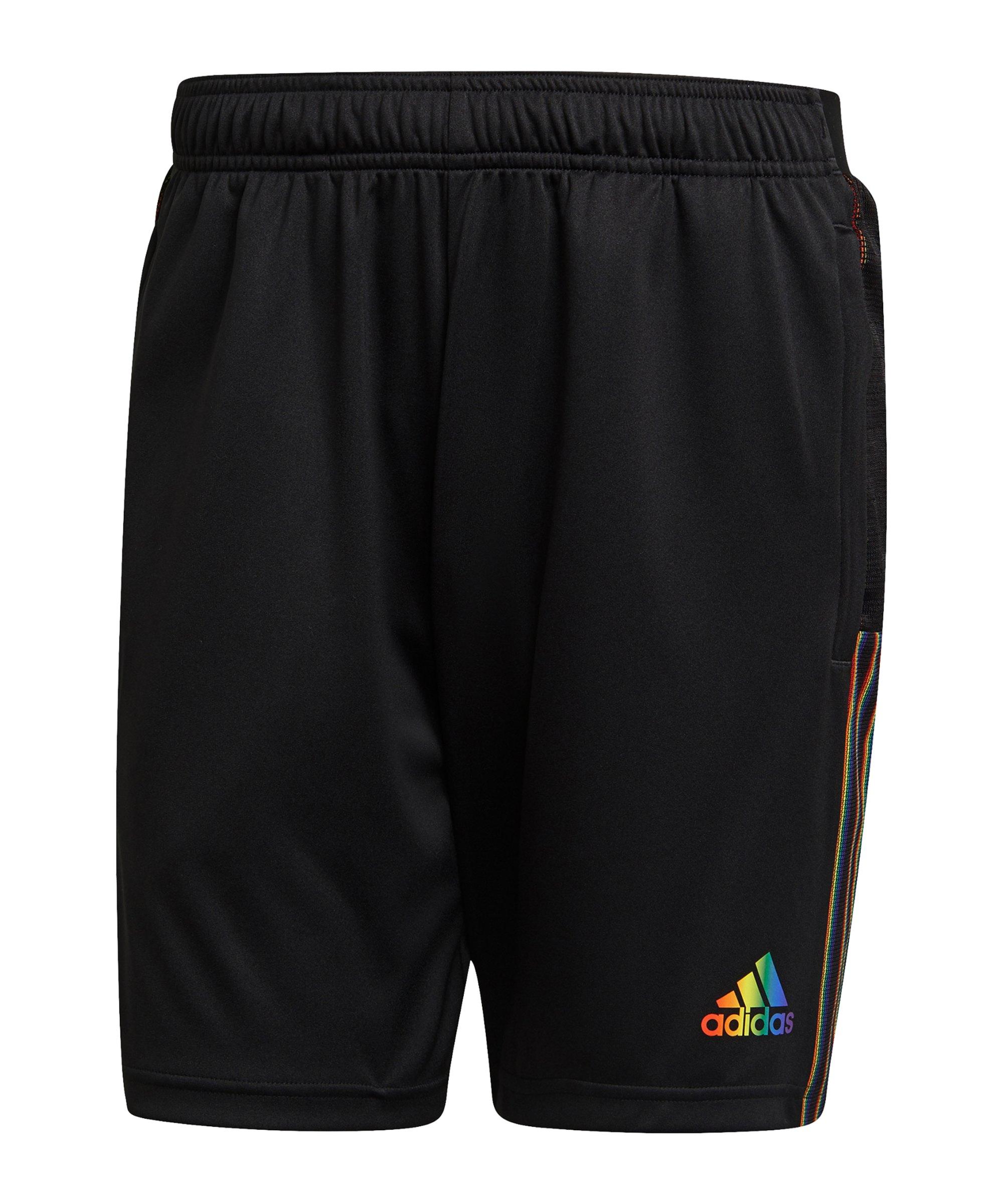 adidas Tiro Pride Short Schwarz - schwarz