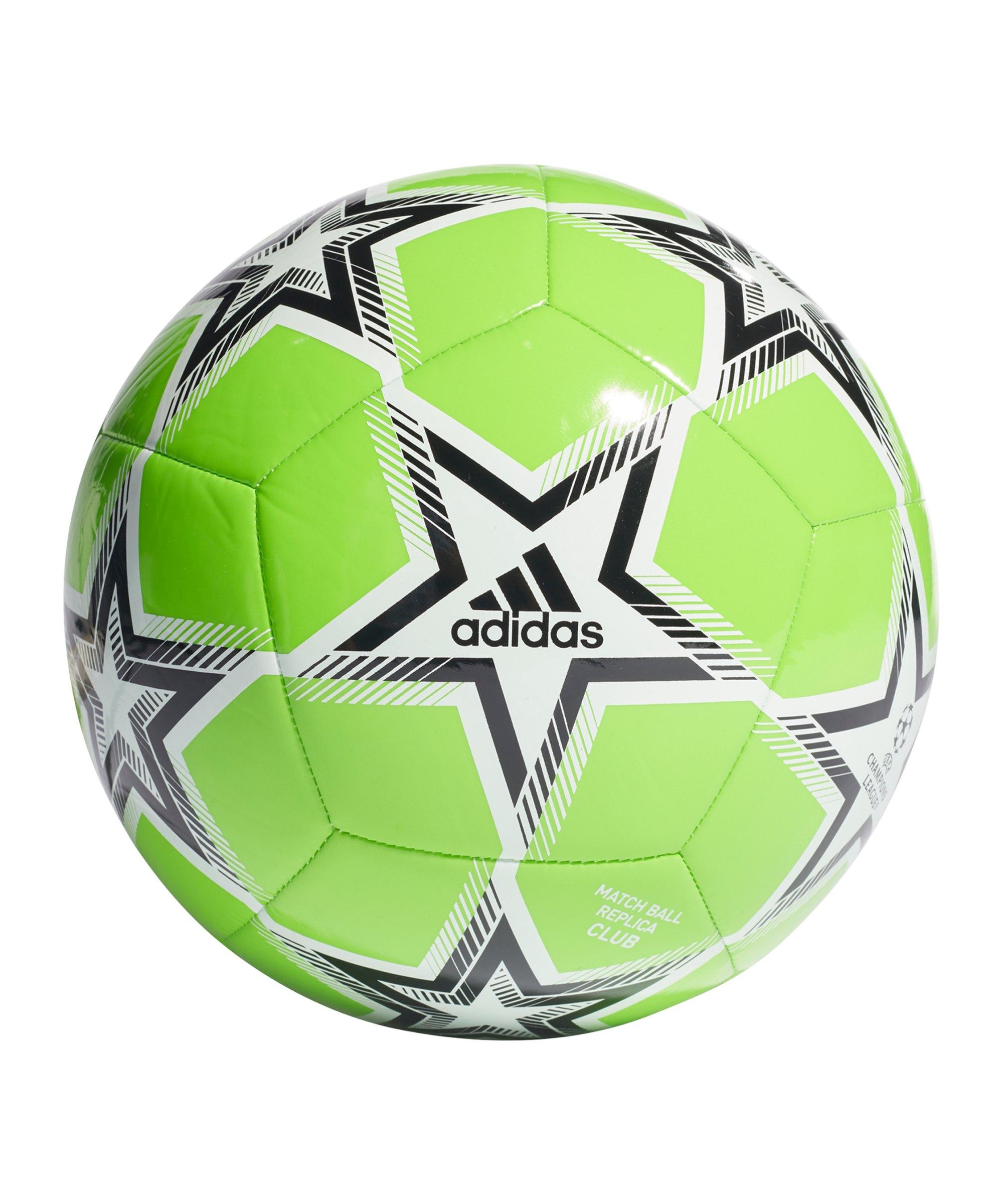 adidas UCL Finale 21 CLB Spielball Grün - gruen