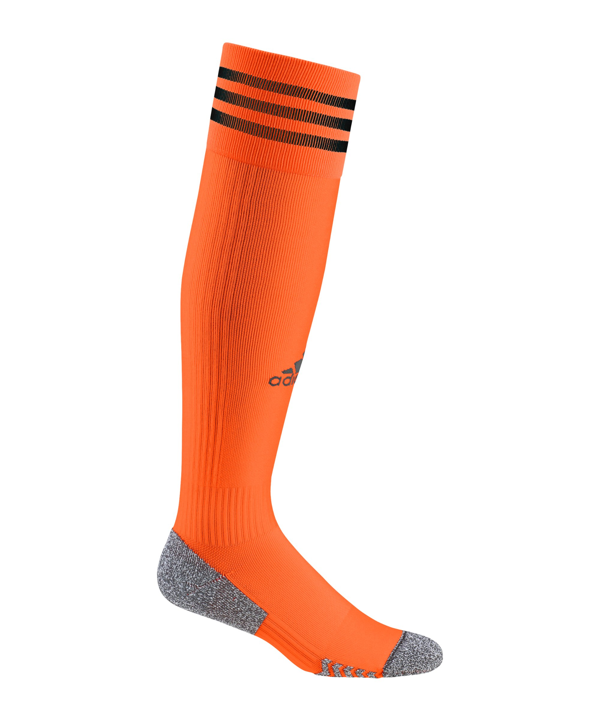 adidas Adisock 21 Stutzenstrumpf Orange Schwarz - orange