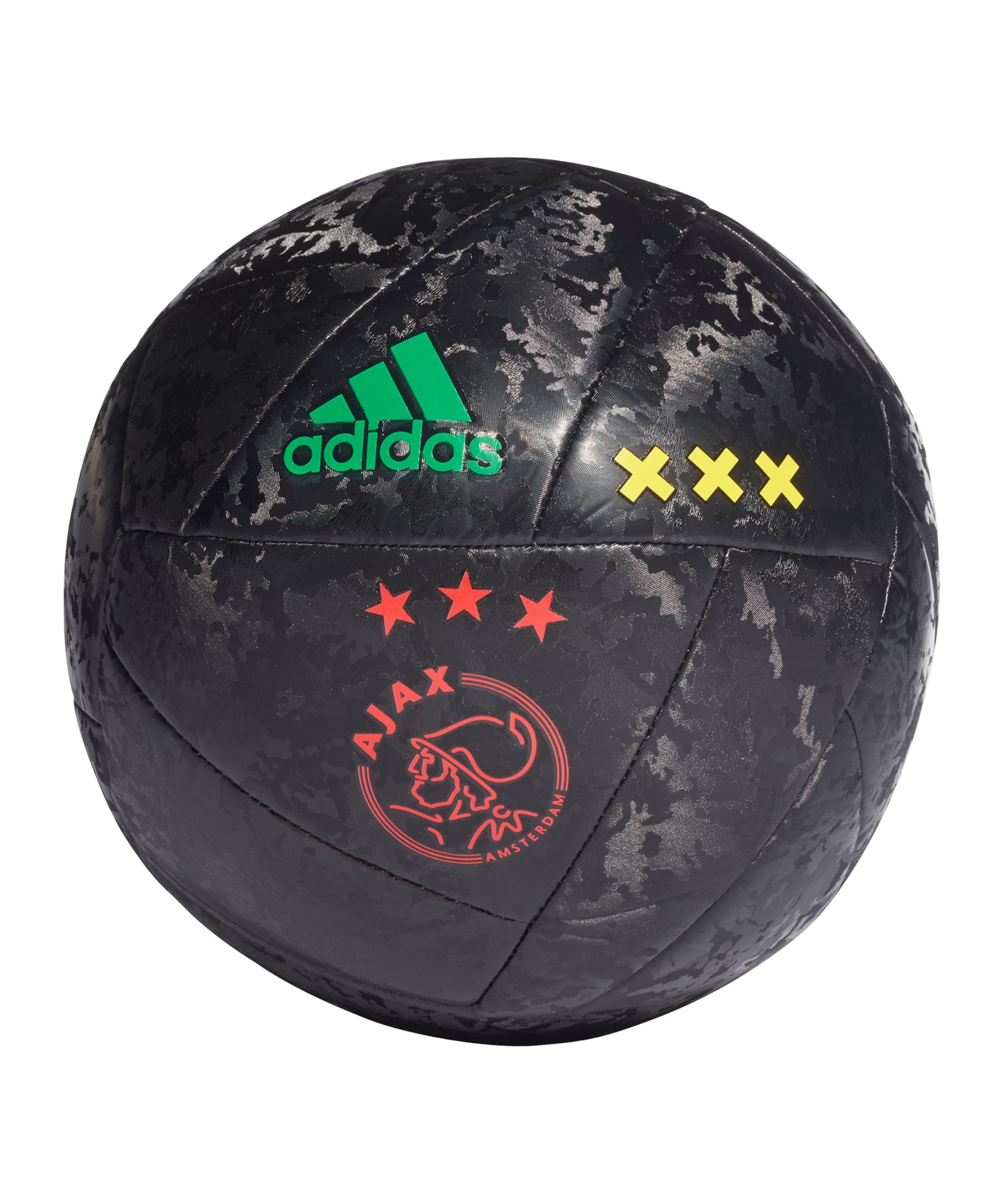 adidas Ajax Amsterdam CL Fussball Schwarz Rot - schwarz