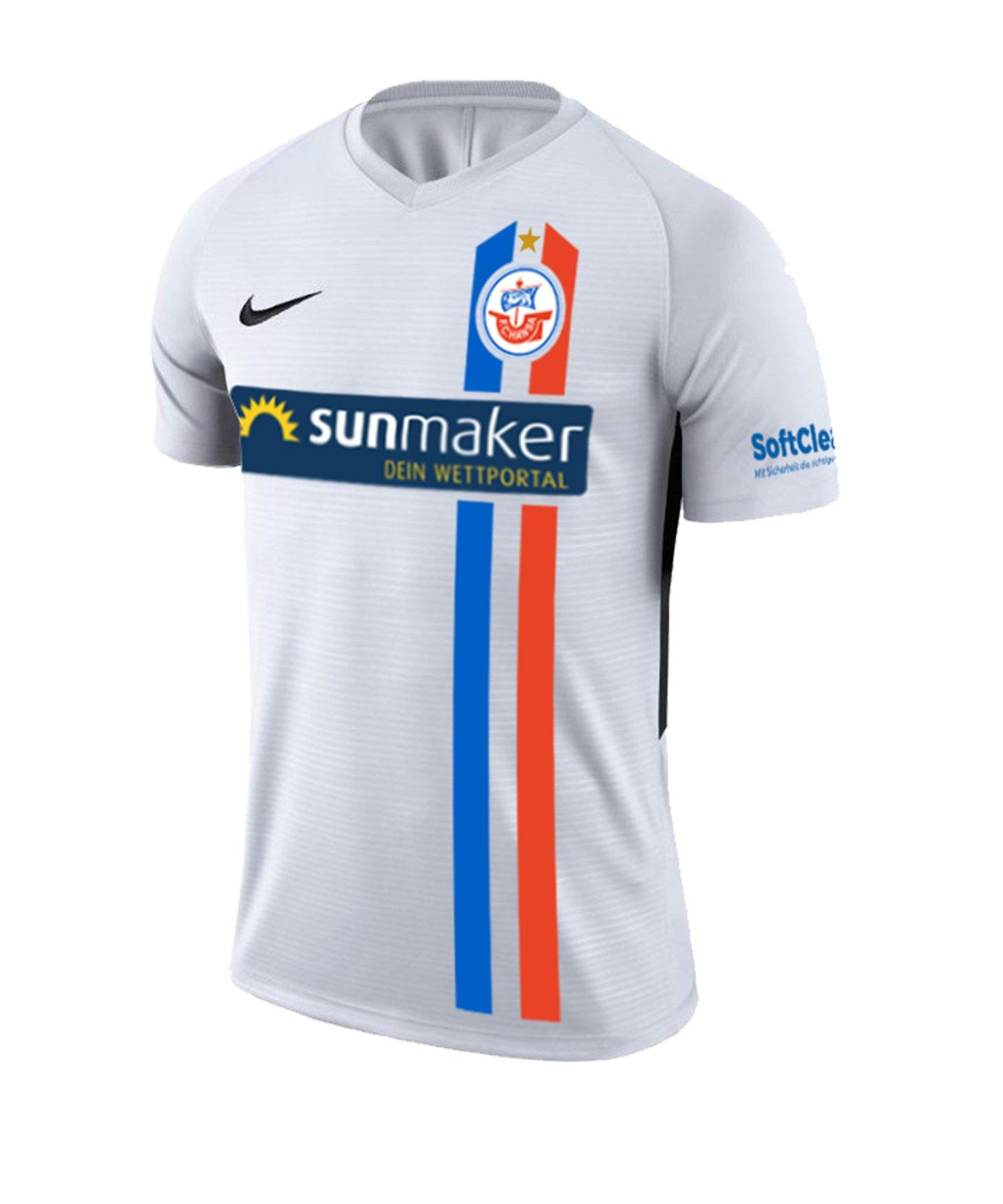 Nike Hansa Rostock Trikot 3rd 2020/2021 Kids F100 - weiss
