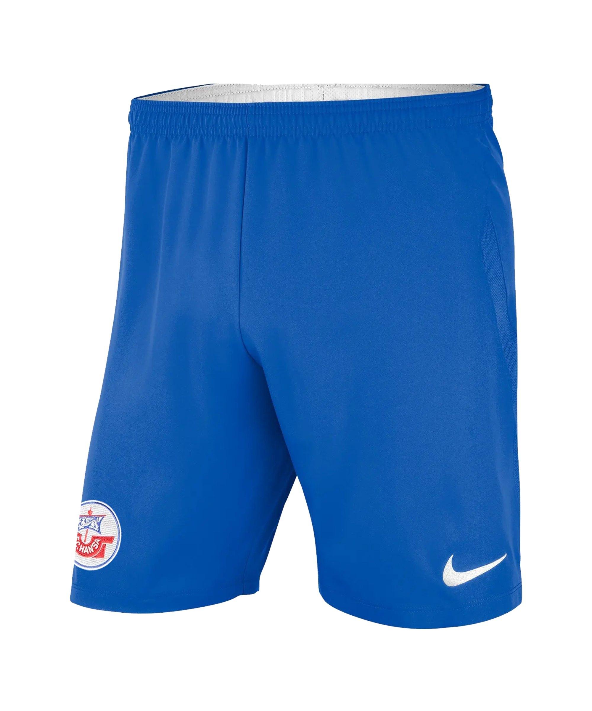 Nike Hansa Rostock Short Home 2021/2022 Blau F463 - blau