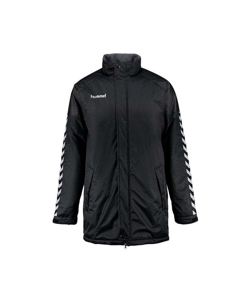 Hummel Authentic Charge Stadium Jacket Jacke F2042 - schwarz