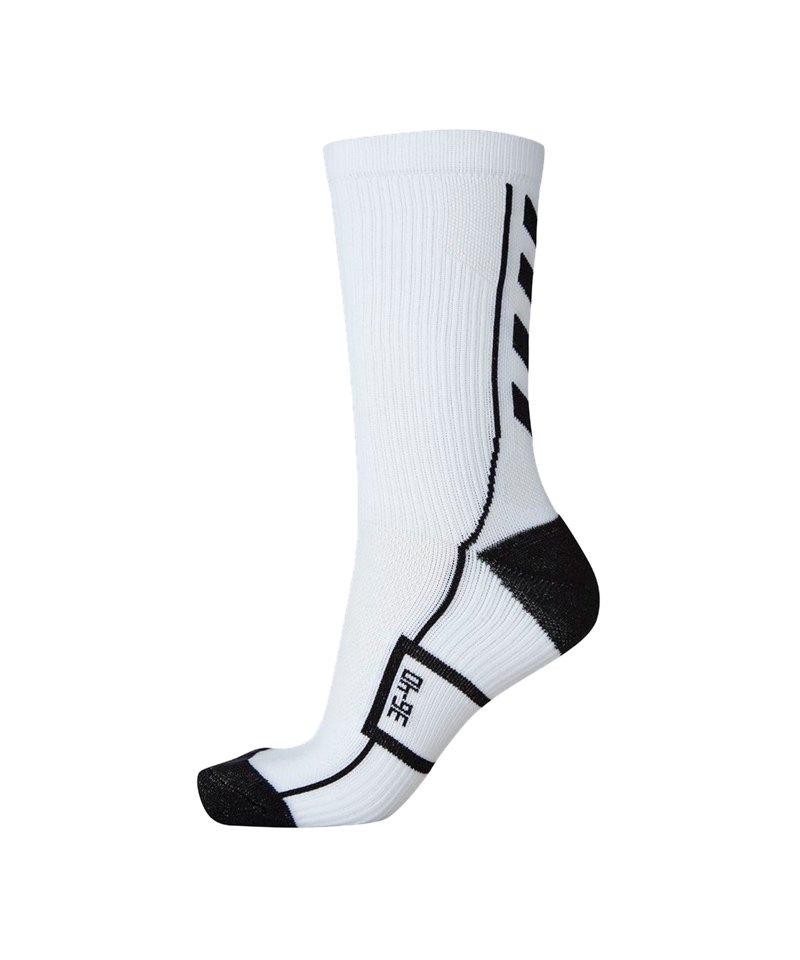 Hummel Tech Indoor Low Socken Weiss F9124 - weiss