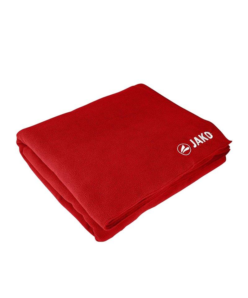 Jako Stadiondecke 150x130 cm Rot F01 - rot