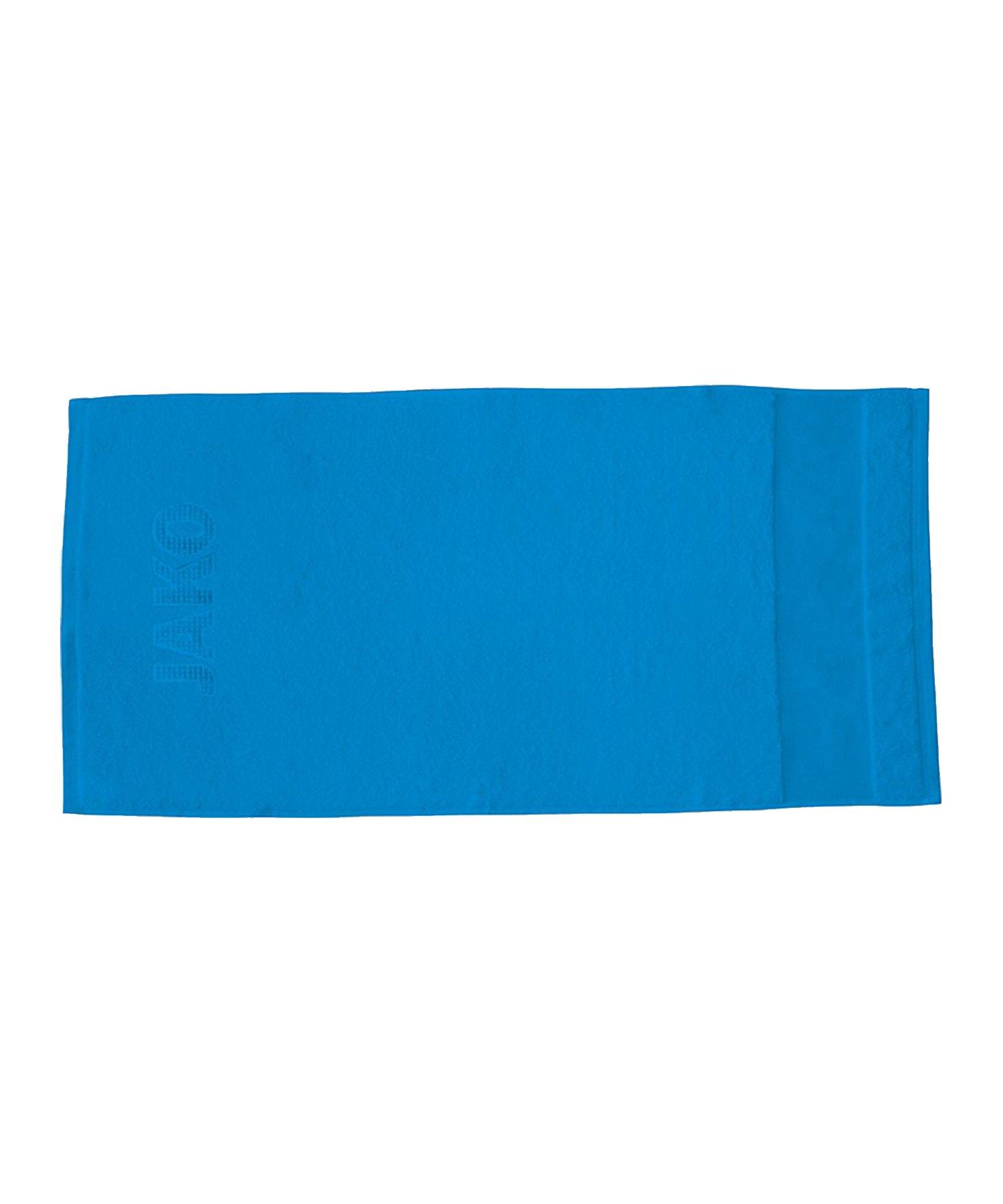 Jako Handtuch 50x100cm Blau F89 - blau