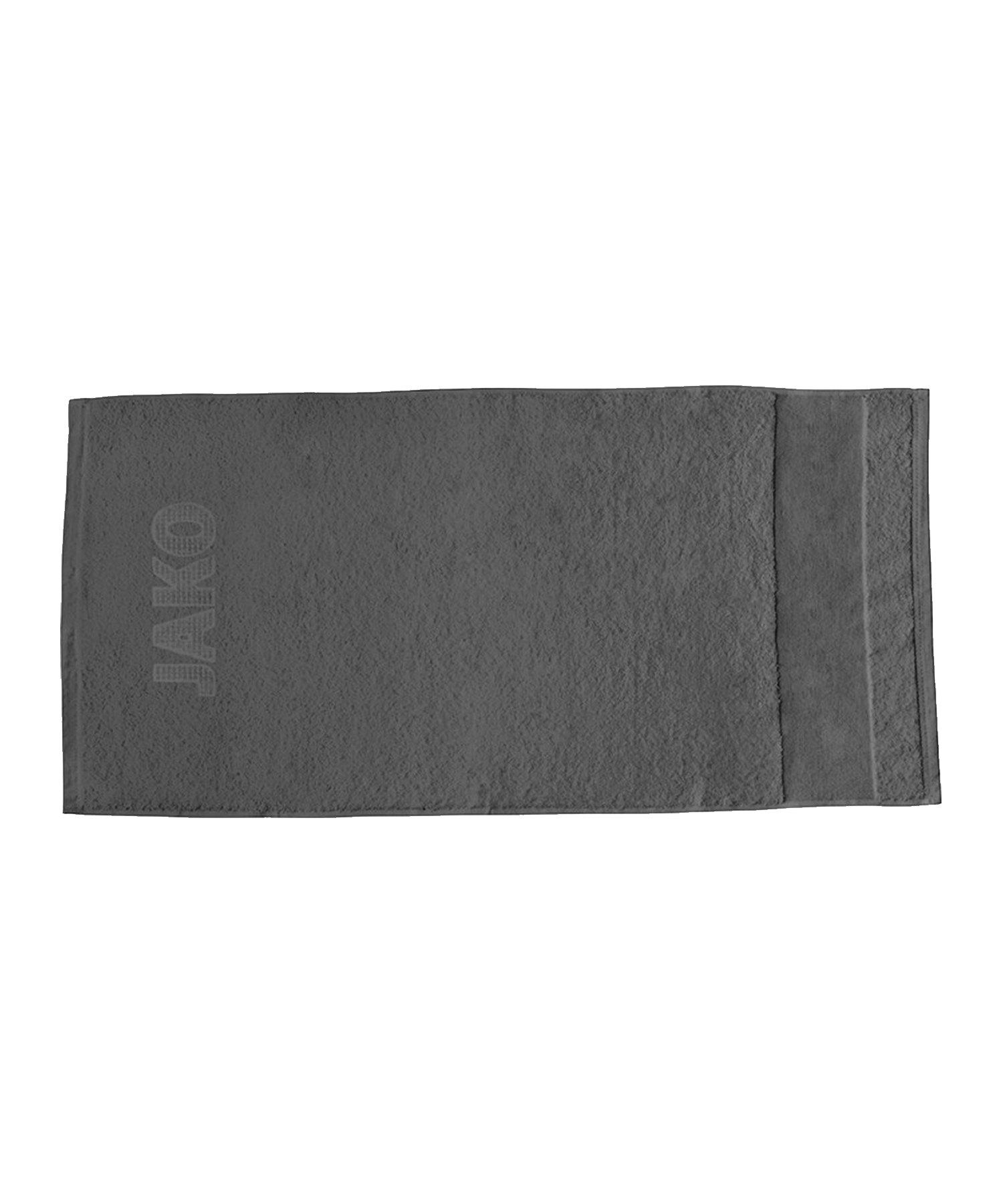 Jako Handtuch 50x100cm Grau F21 - grau