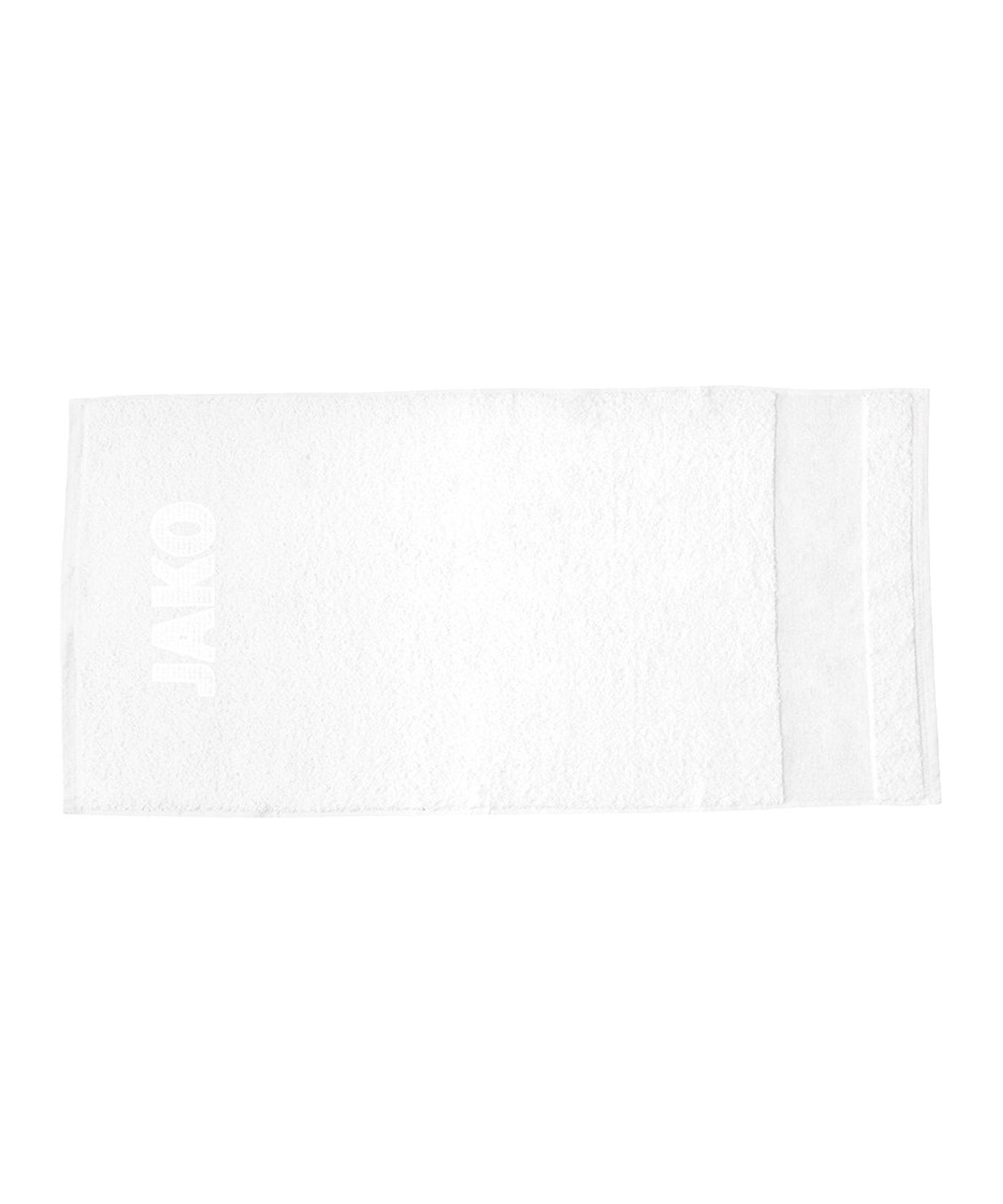 Jako Handtuch 50x100cm Weiss F00 - weiss