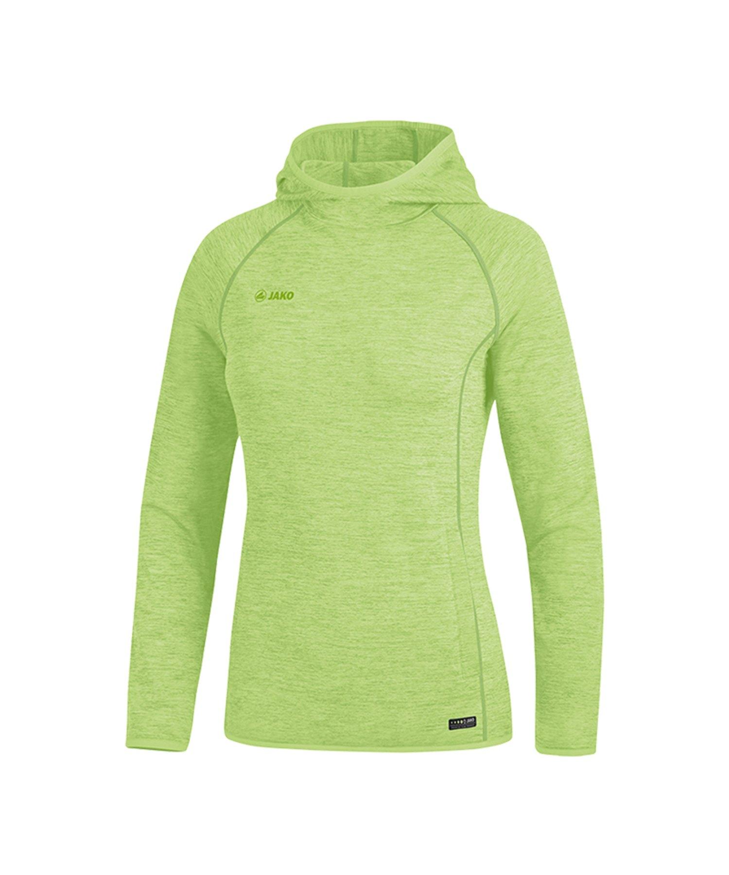 Jako Active Kapuzensweatshirt Damen Grün F25 - Gruen