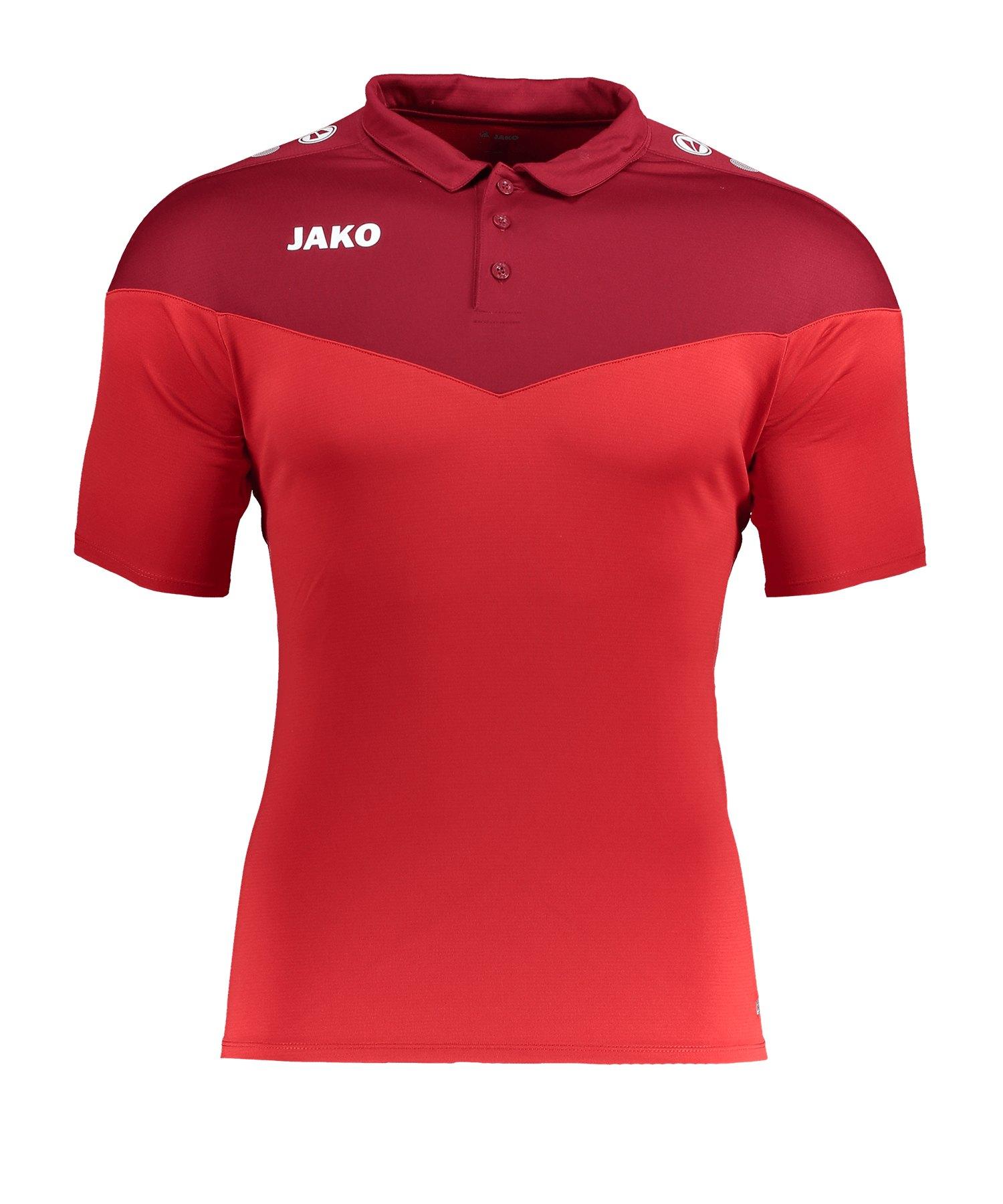 Jako Champ 2.0 Poloshirt Rot F01 - rot