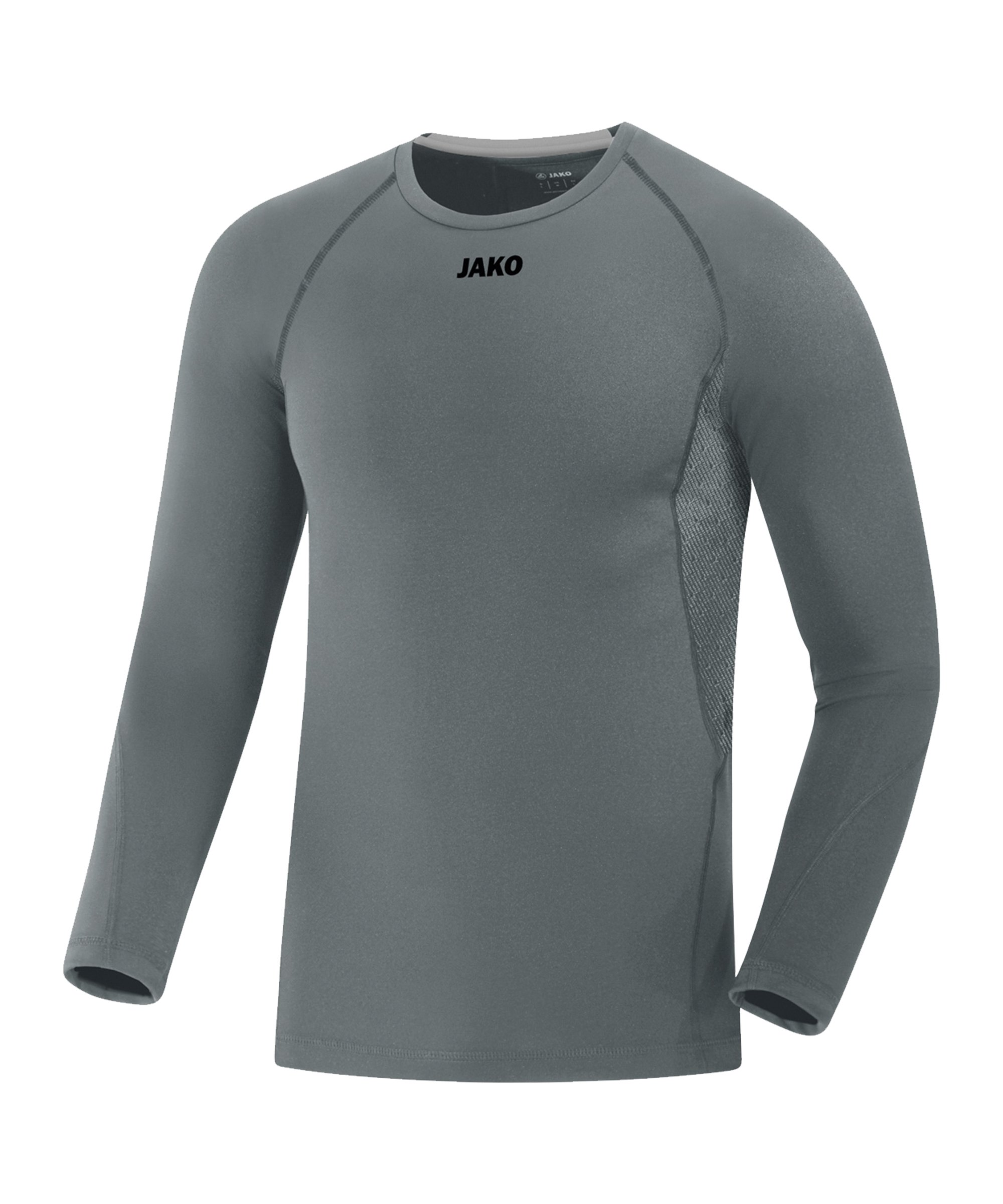 JAKO Compression 2.0 Longsleeve Grau F40 - grau