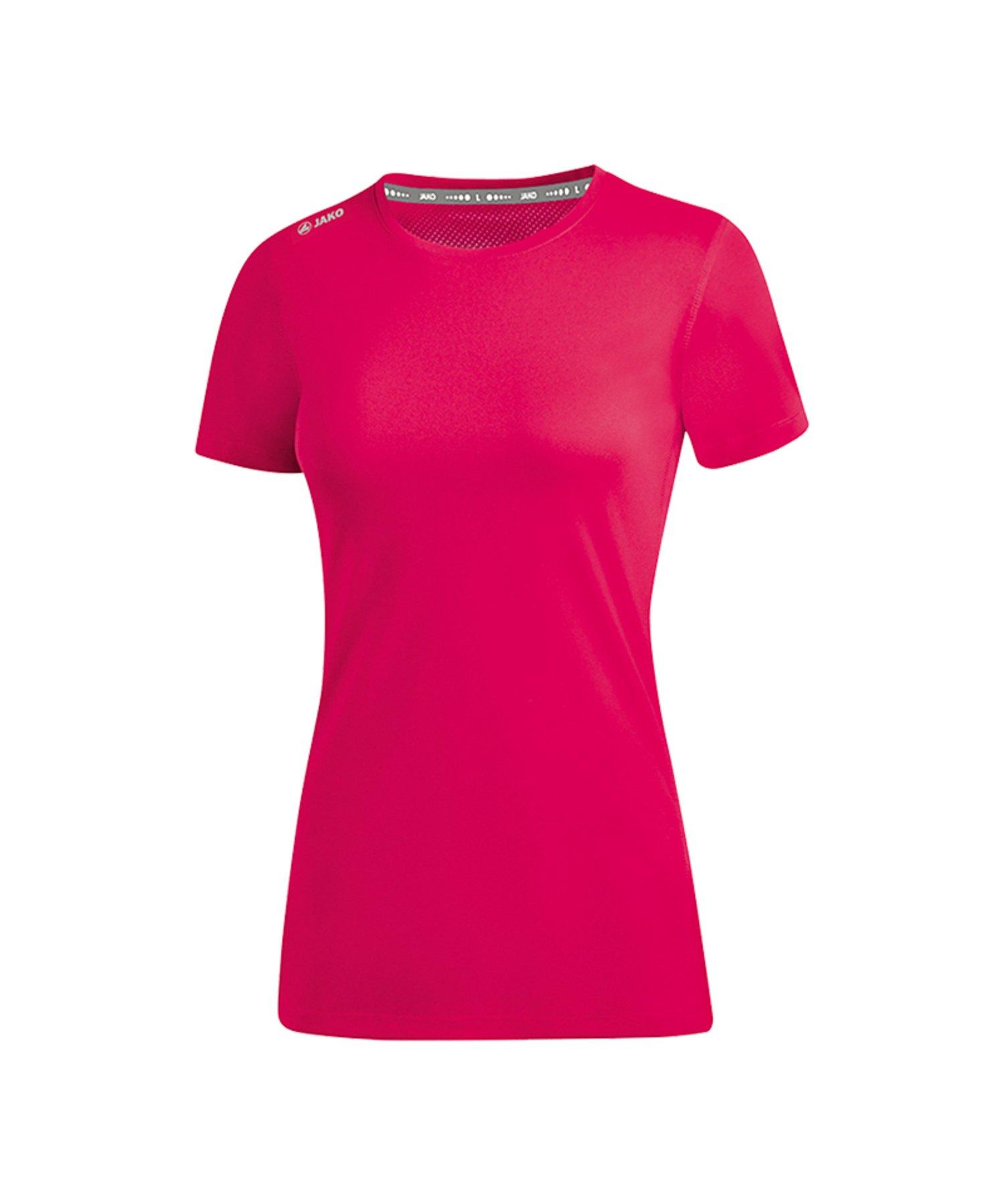 Jako Run 2.0 T-Shirt Running Damen Pink F51 - Pink
