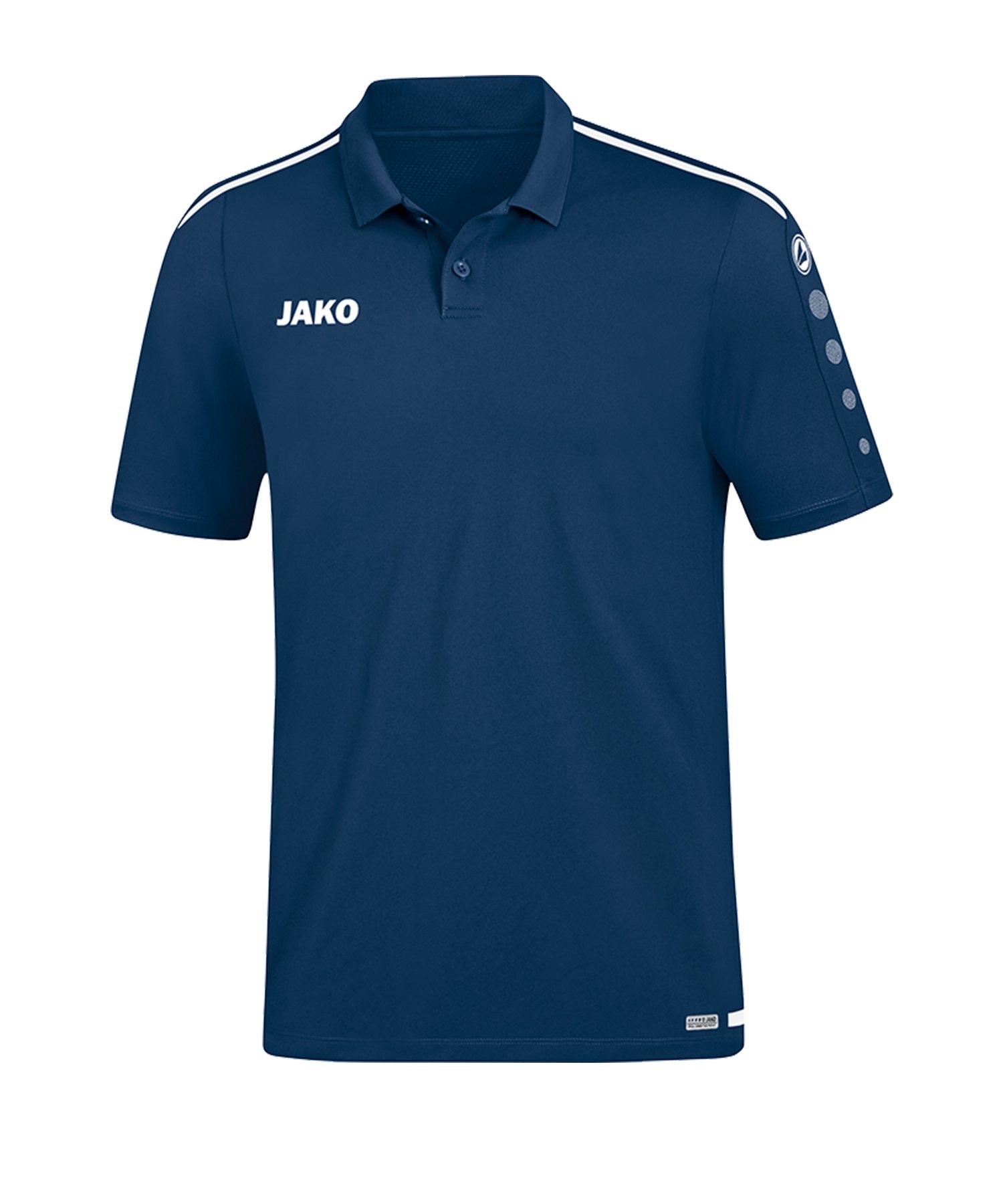 Jako Striker 2.0 Poloshirt Blau Weiss F99 - Blau