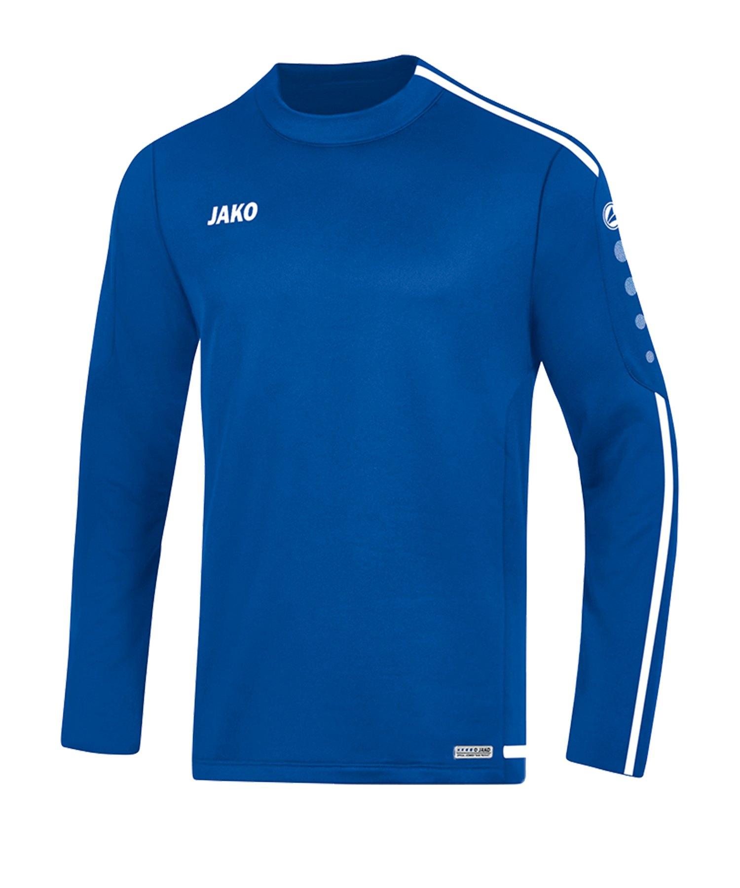Jako Striker 2.0 Sweatshirt Blau Weiss F04 - Blau