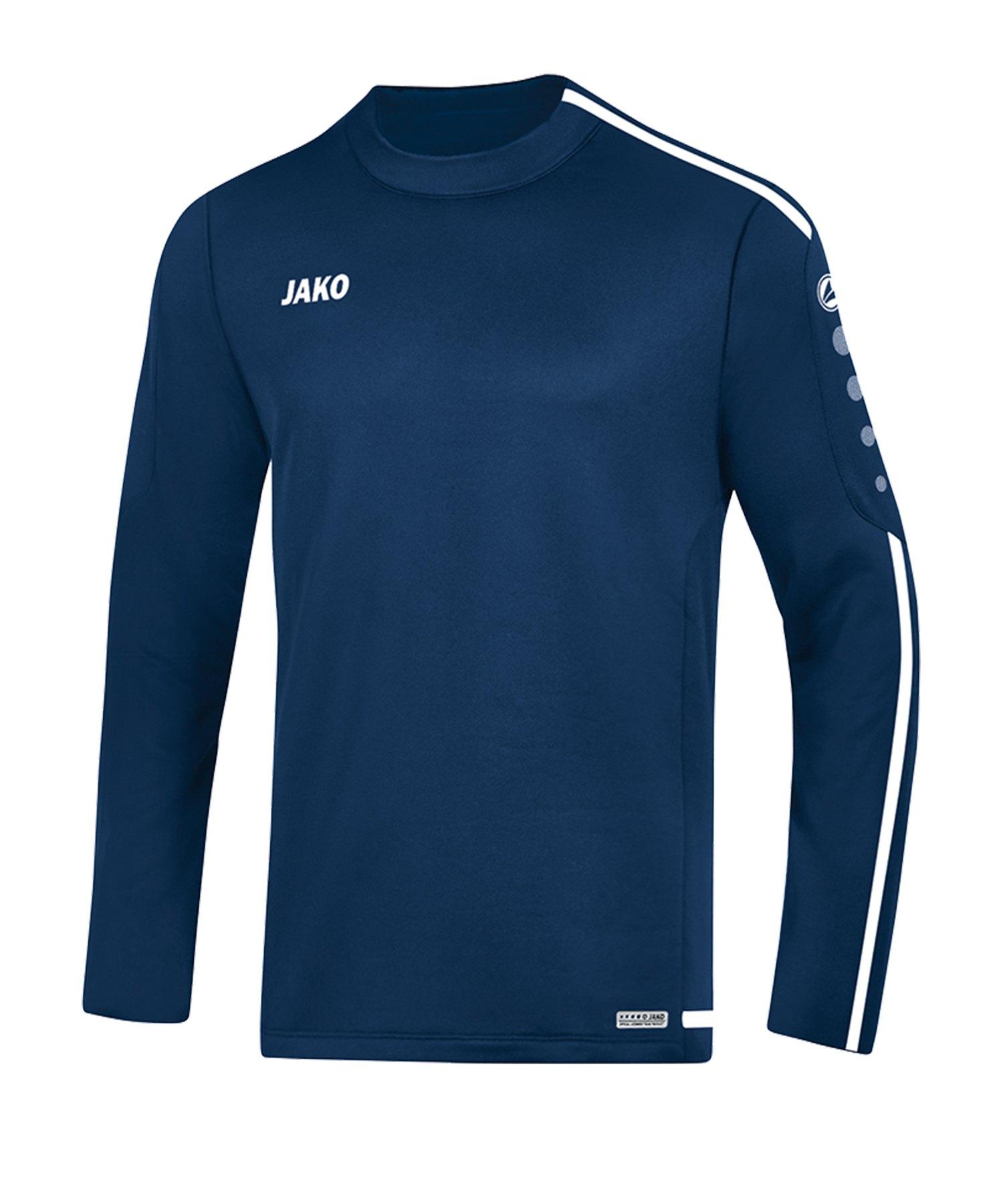 Jako Striker 2.0 Sweatshirt Blau Weiss F99 - Blau