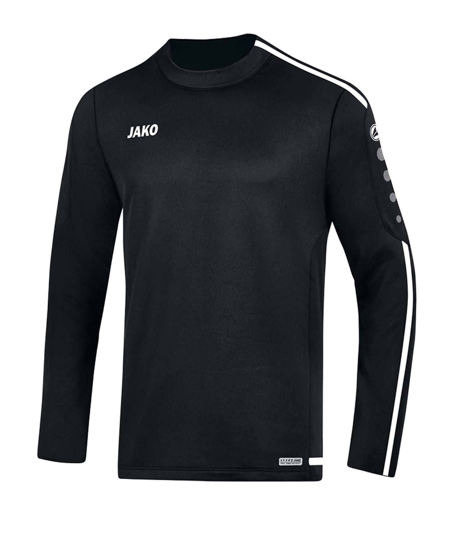 Jako Striker 2.0 Sweatshirt Grün Weiss F06 - schwarz