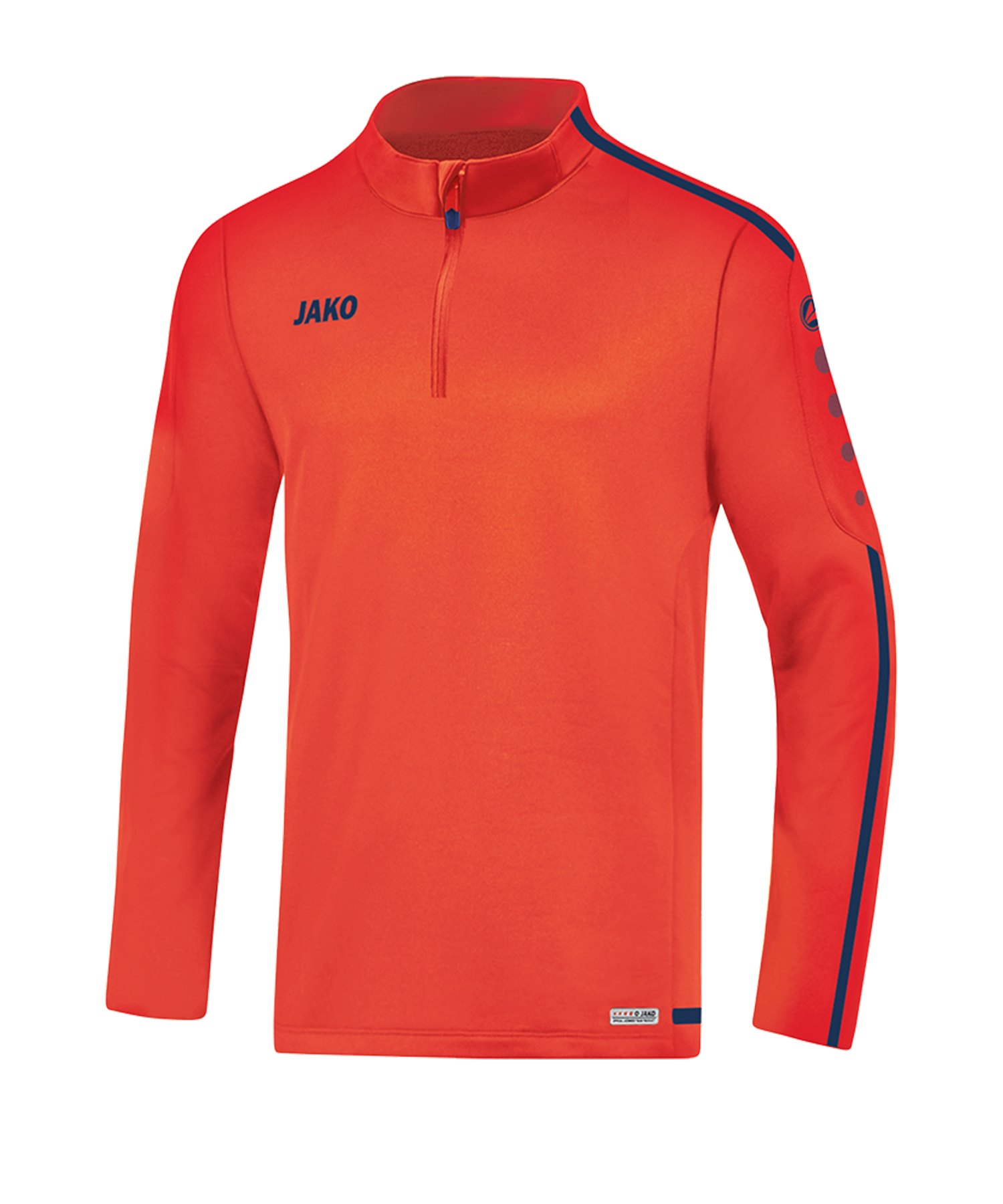 Jako Striker 2.0 Ziptop Orange Blau F18 - Orange