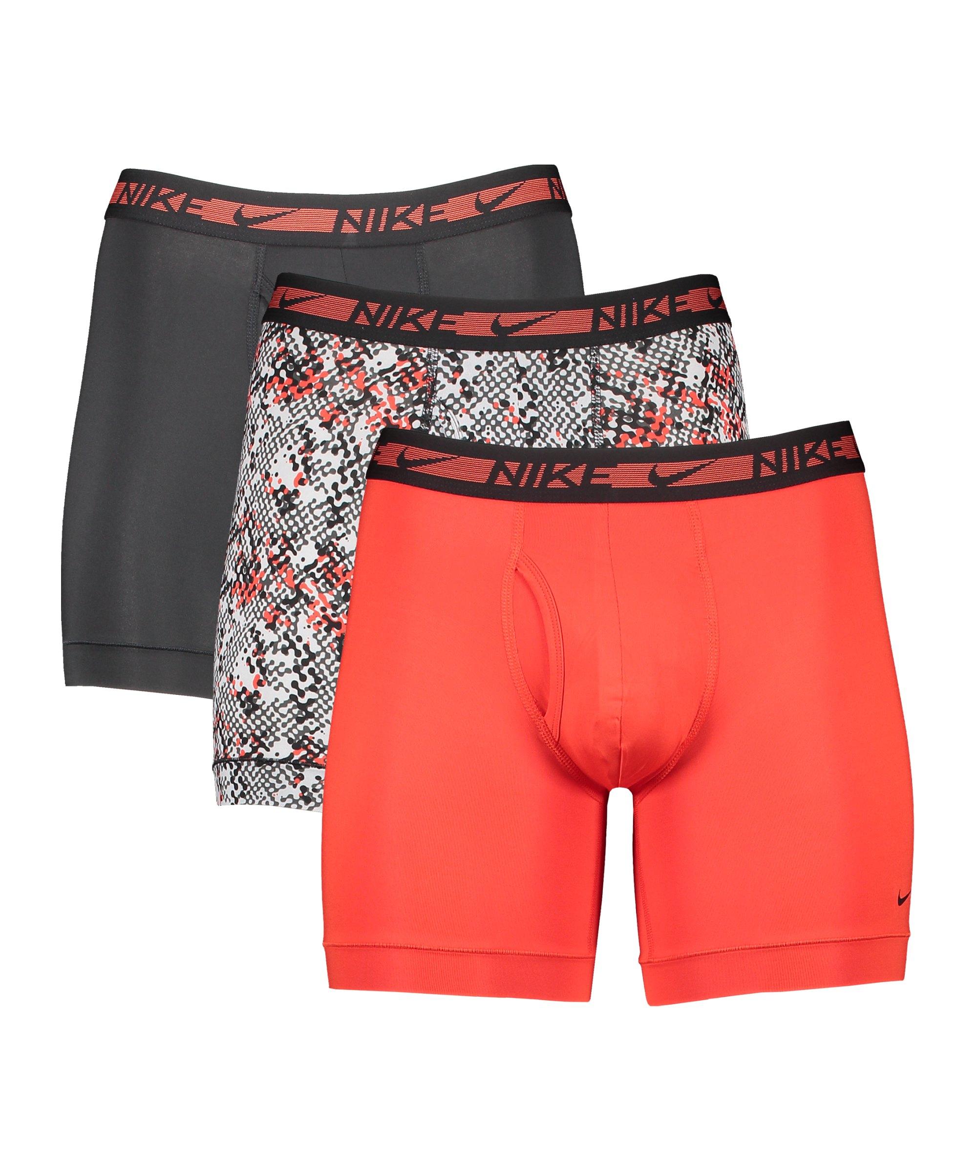 Nike Boxer Brief 3er Pack Boxershort FKUZ - schwarz