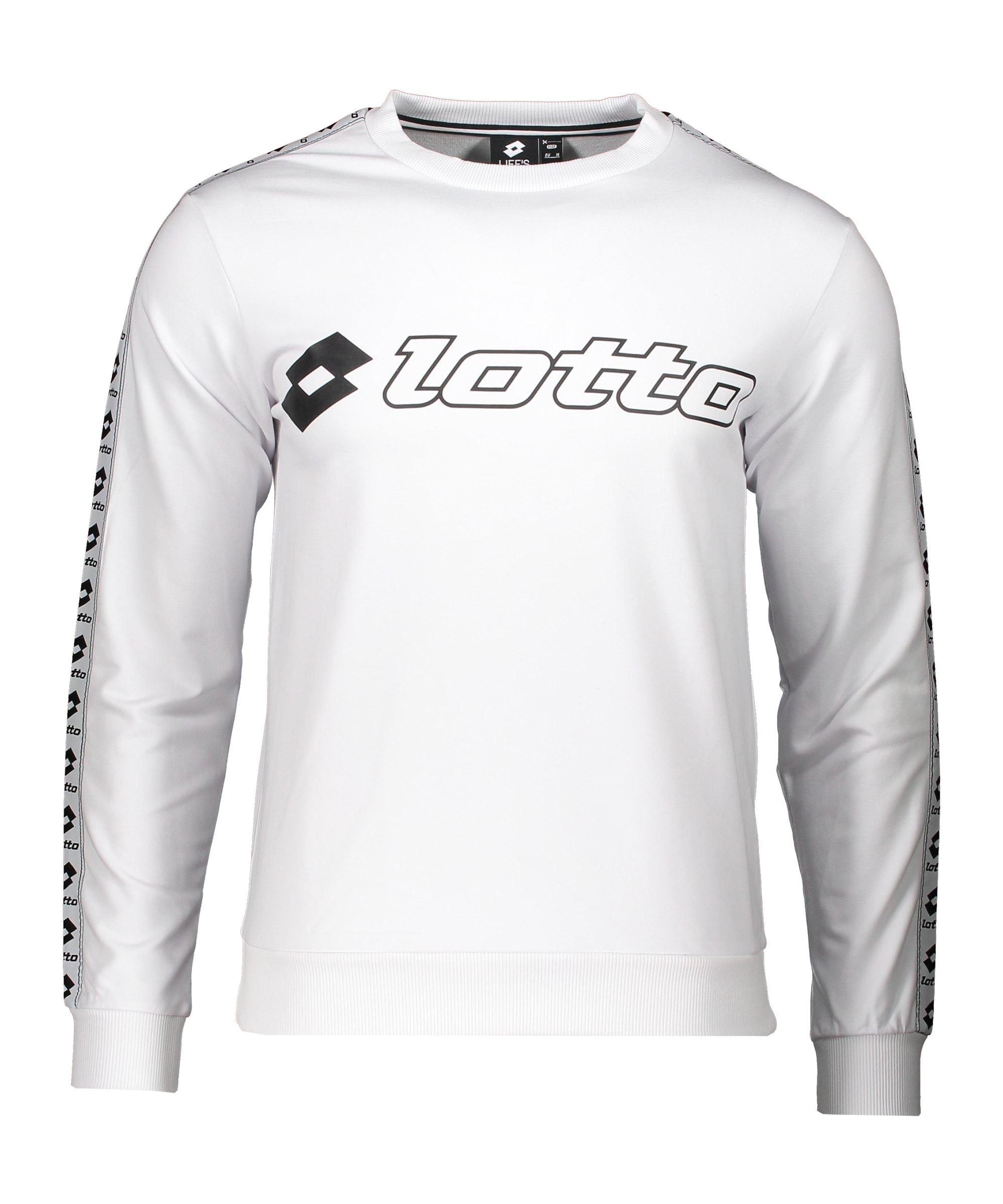 Lotto Athletica Sweatshirt Weiss F0F1 - weiss