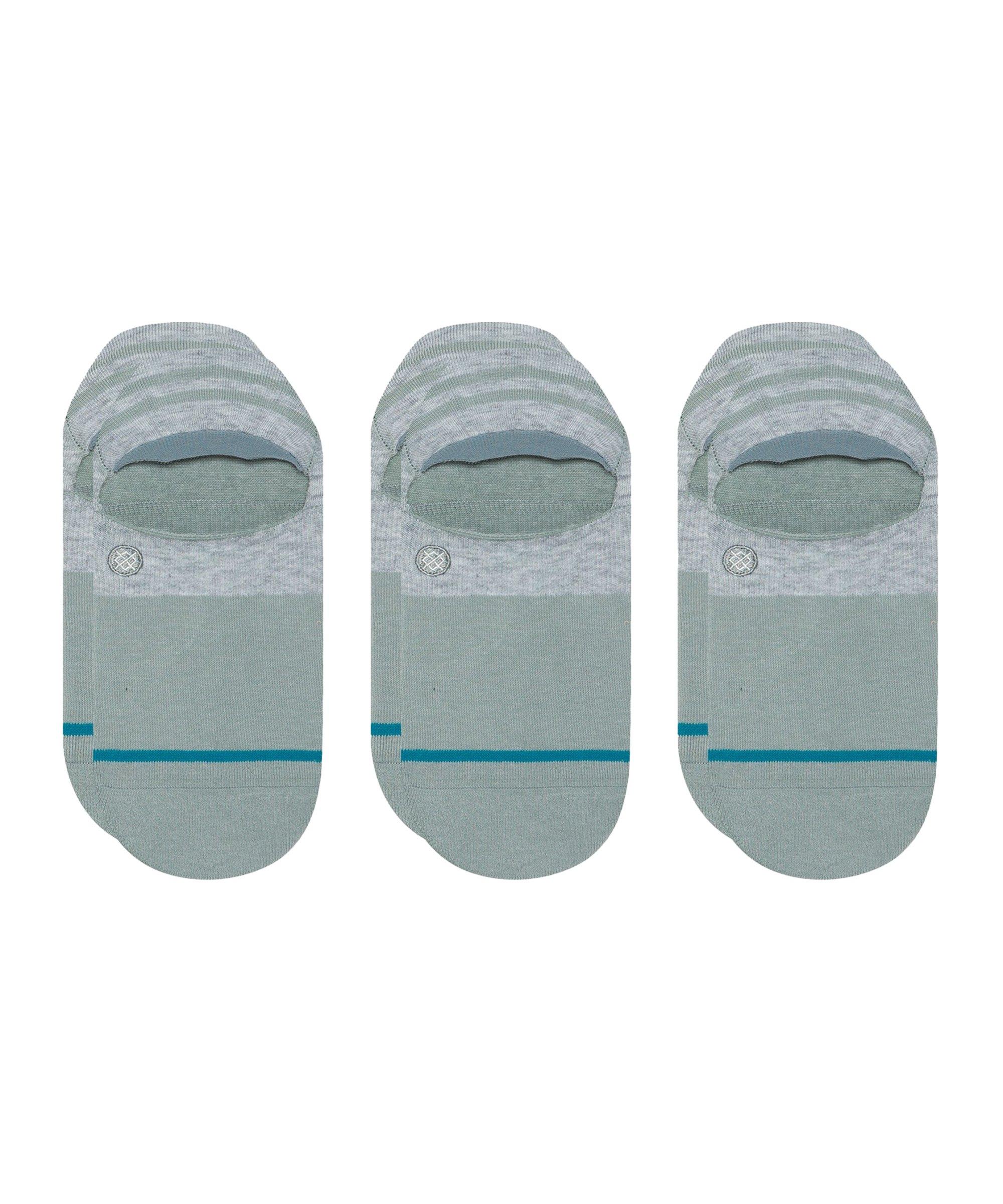 Stance Uncommon Gamut II Socks 3er Pack Grau - grau