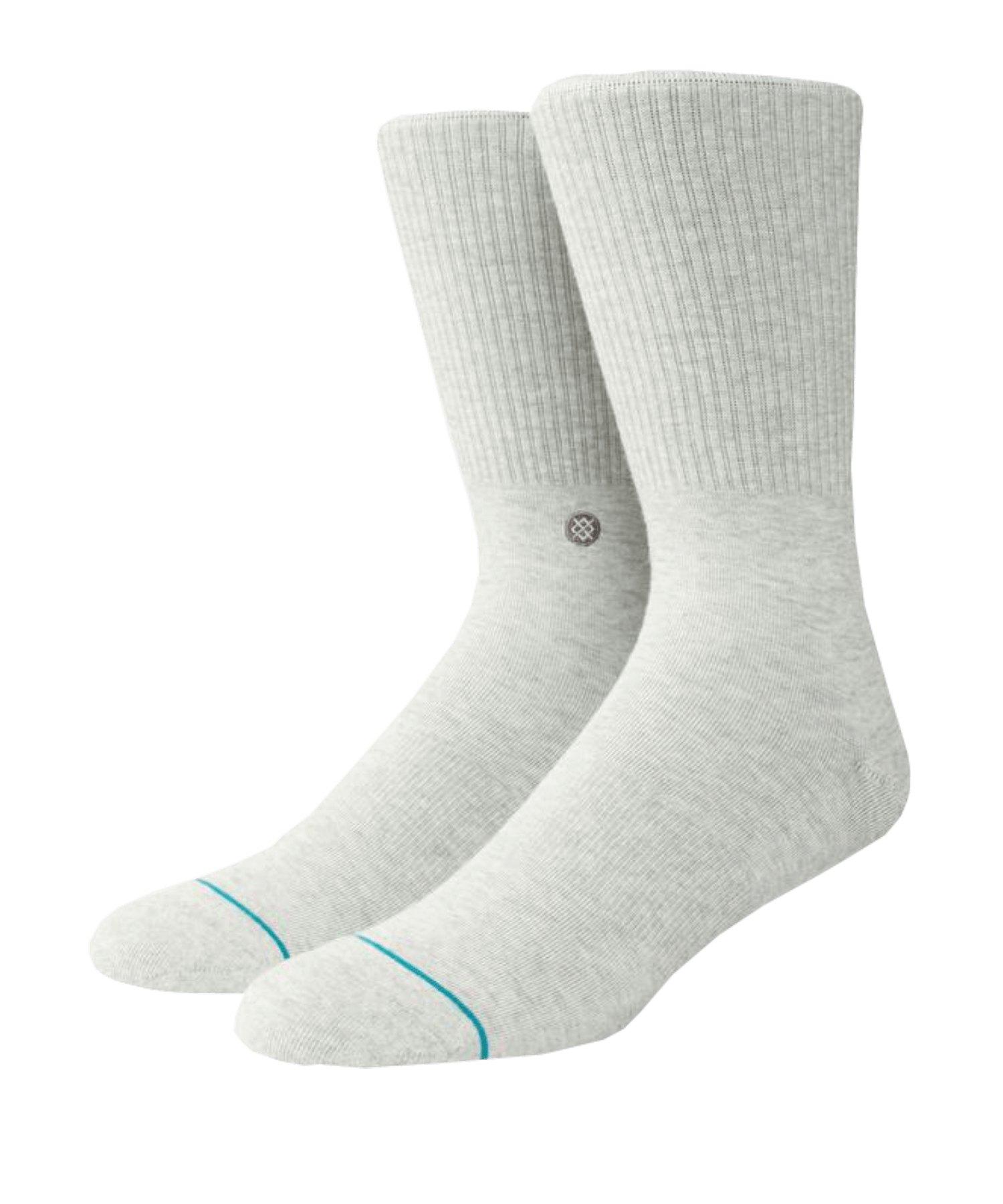 Stance Uncommon Solids Fashion Icon Socken Grau - grau