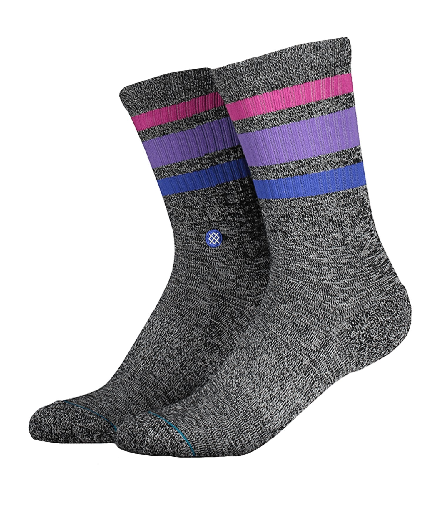 Stance Uncommon Solids Boyd 4 Socken Grau - grau