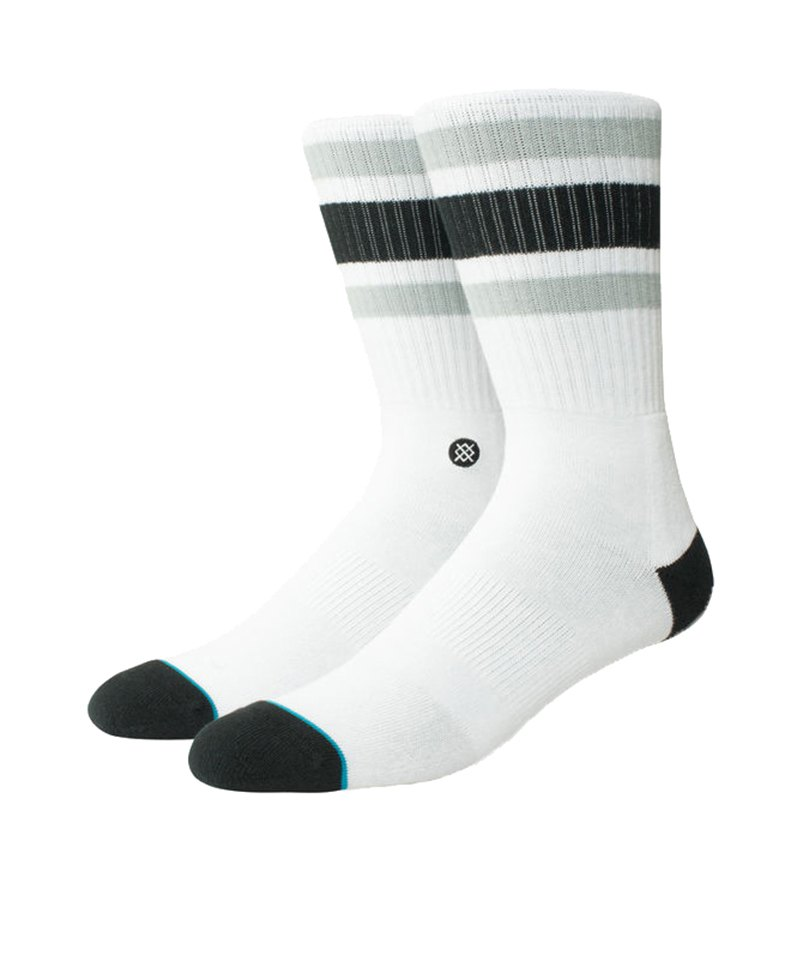 Stance Uncommon Solids Boyd 4 Socks Weiss - weiss
