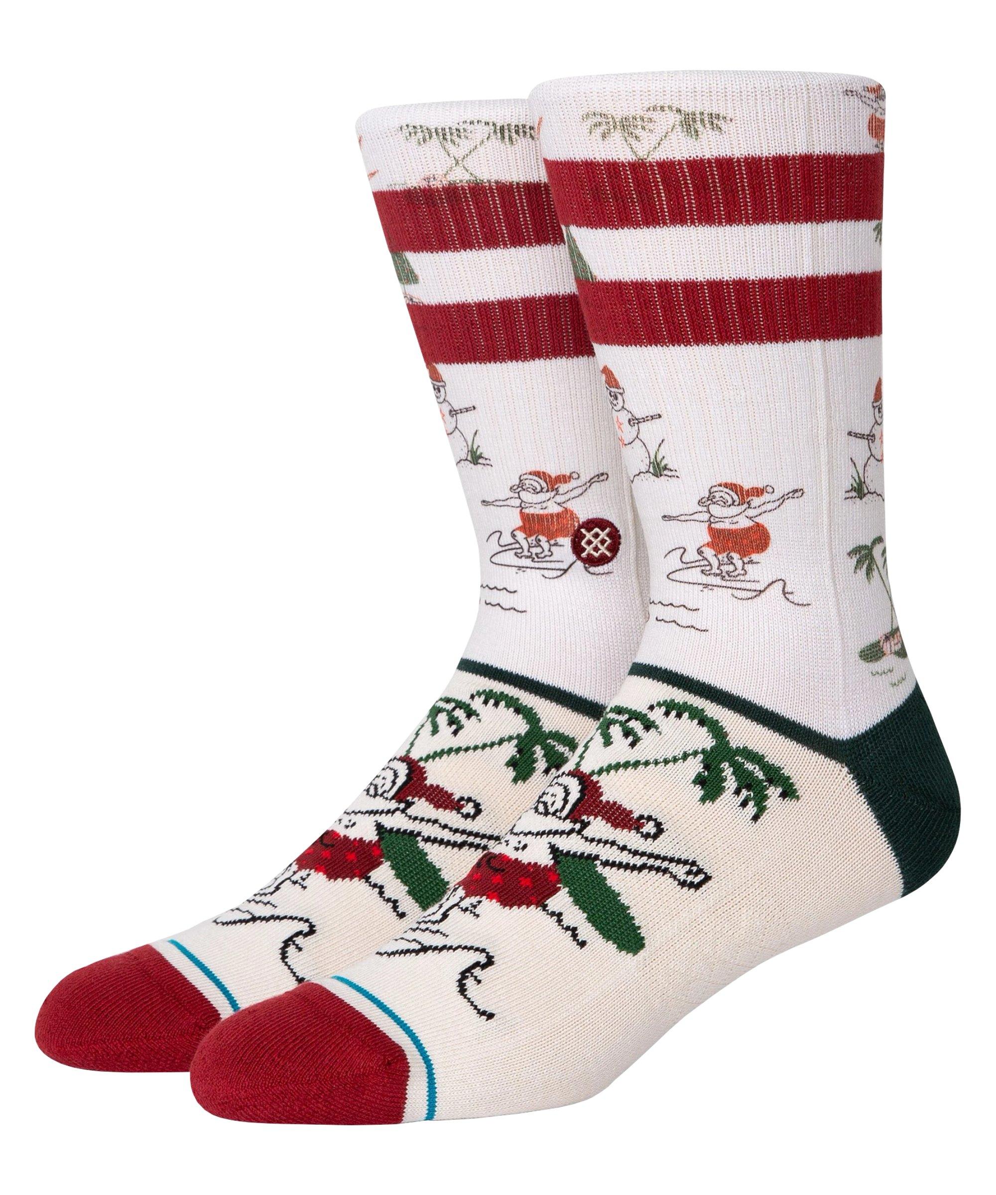 Stance Santas Day off Socken Weiss - weiss