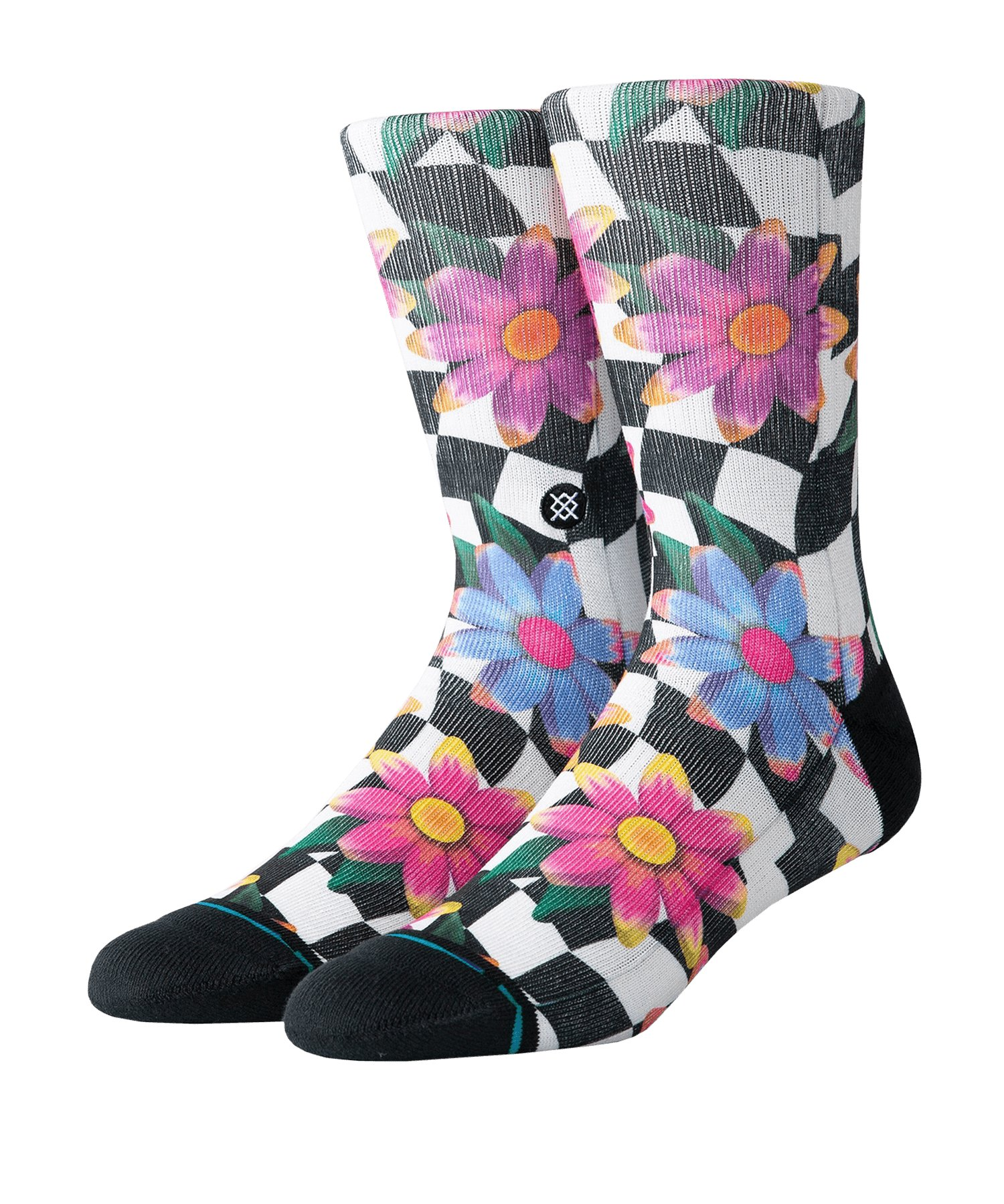 Stance Socken Foundation Flower Rave Multi - weiss