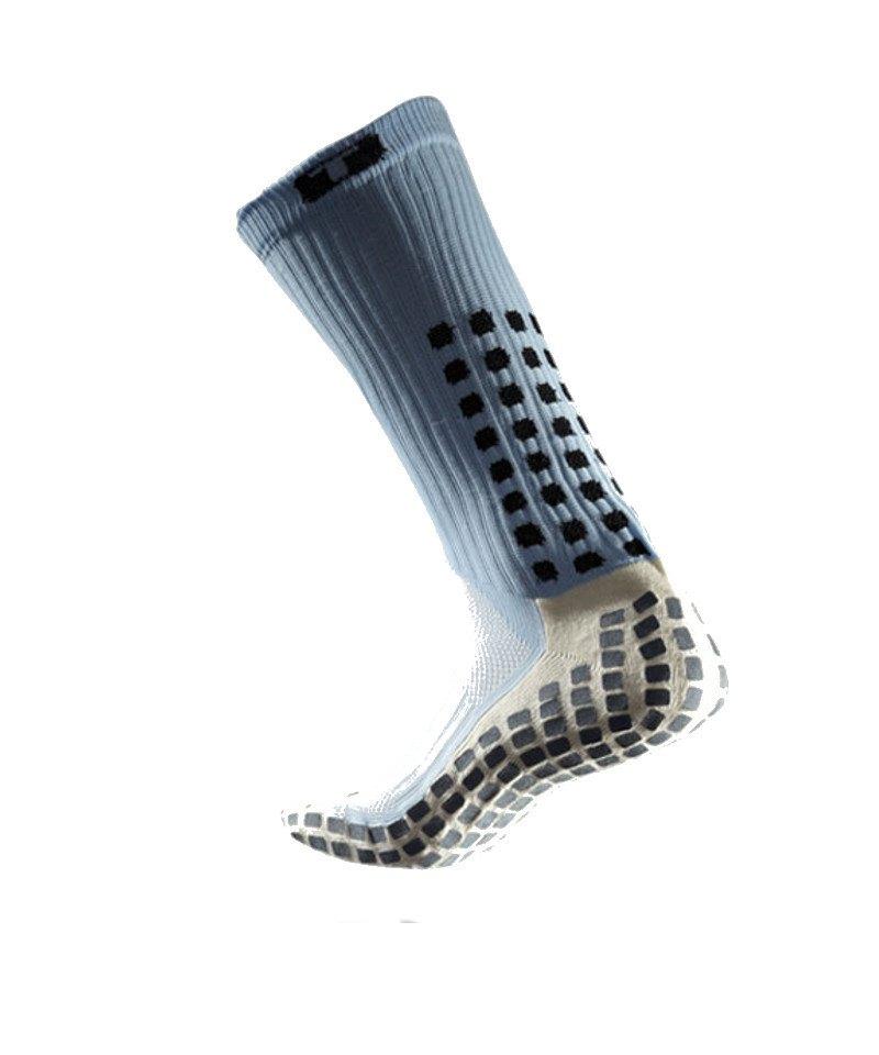TruSox Socken Mid Calf Cushion Hellblau Schwarz - blau