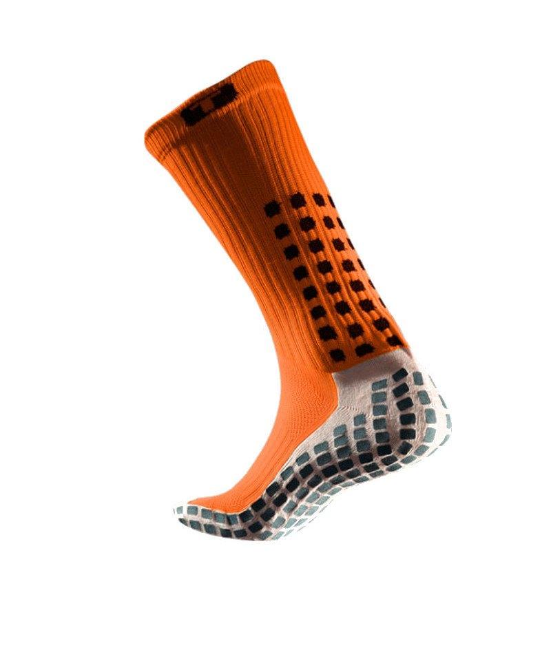 TruSox Socken Mid Calf Cushion Orange Schwarz - orange