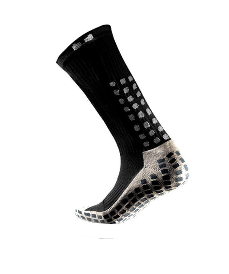 TruSox Socken Mid Calf Cushion Schwarz Weiss - schwarz