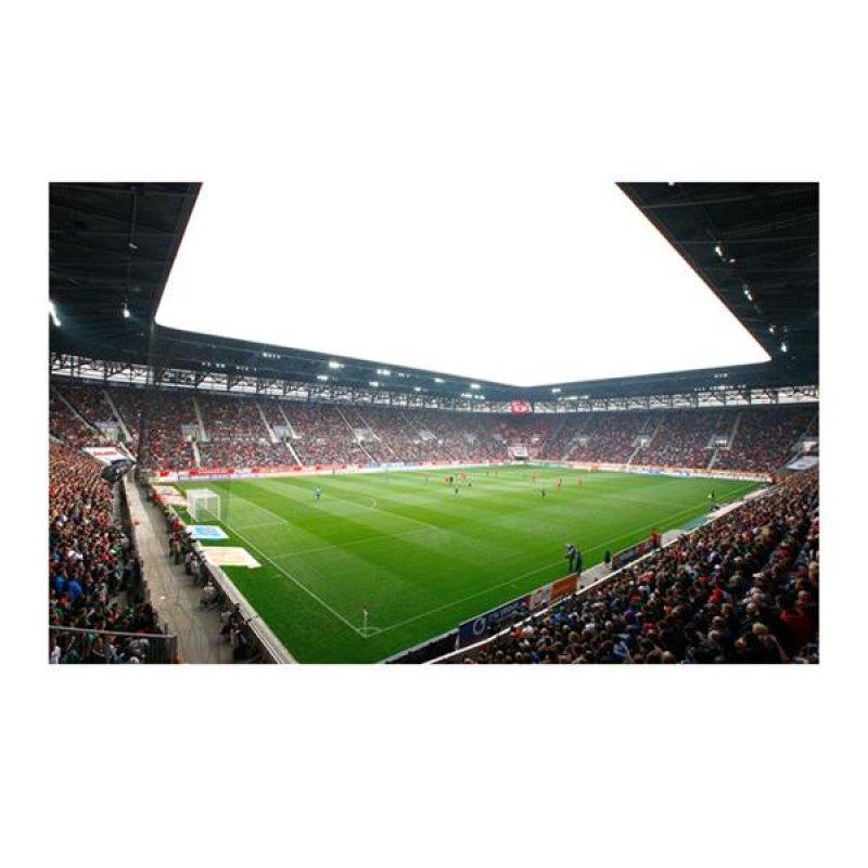 FC Augsburg Fototapete Weiss Schwarz - schwarz