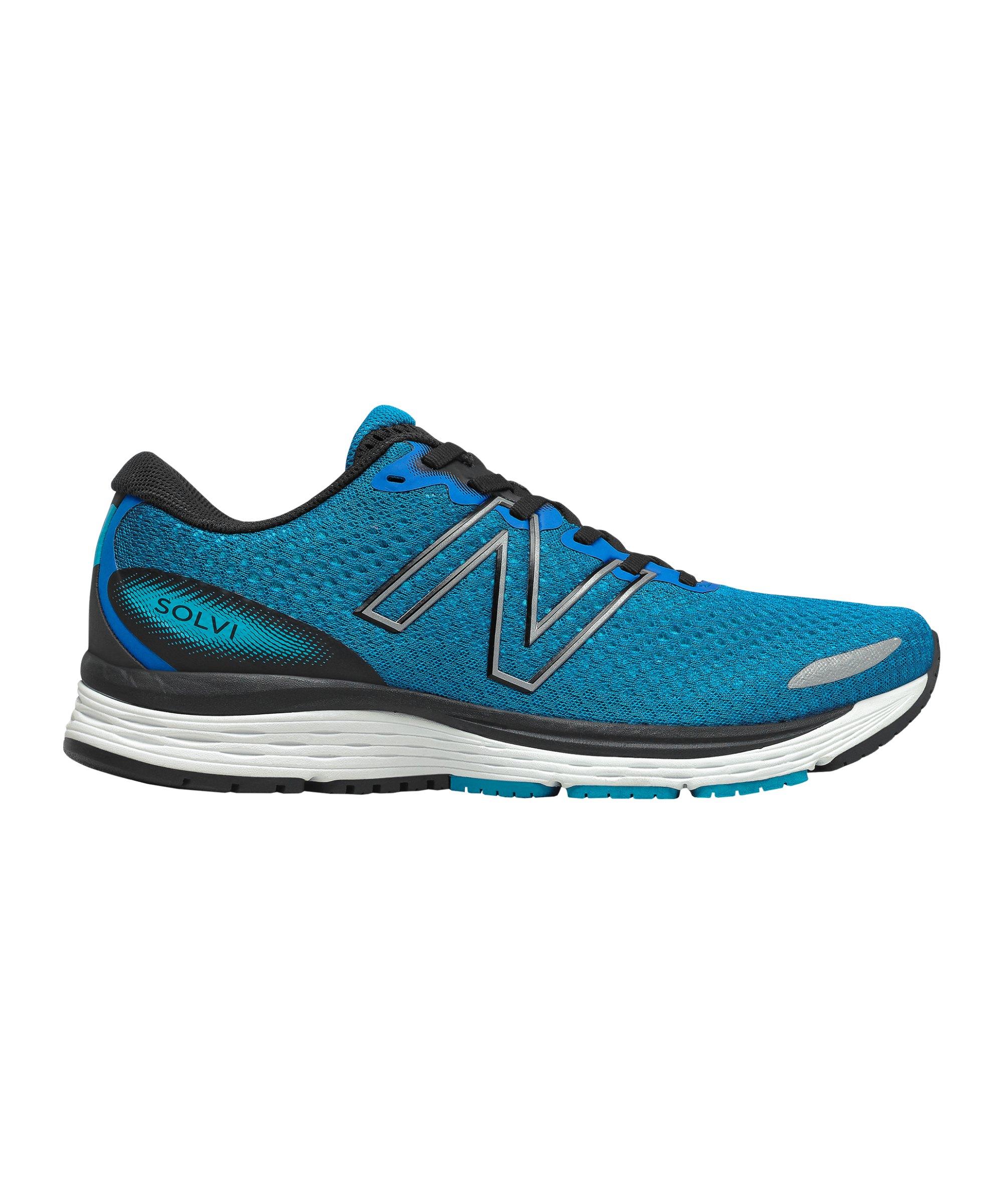 New Balance MSOLV Running Blau Schwarz FLB3 - blau