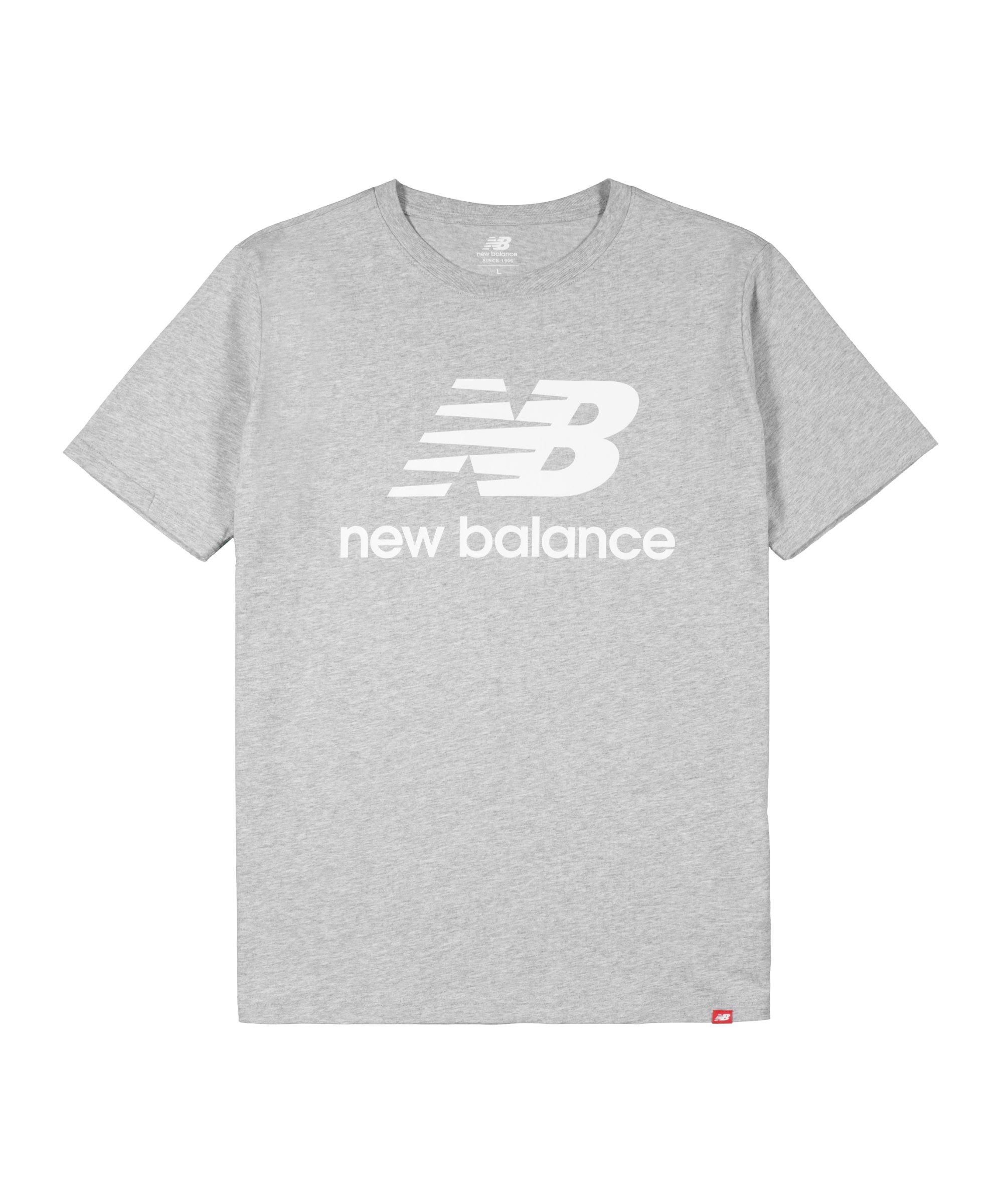 New Balance MT01575 T-Shirt Grau F121 - grau