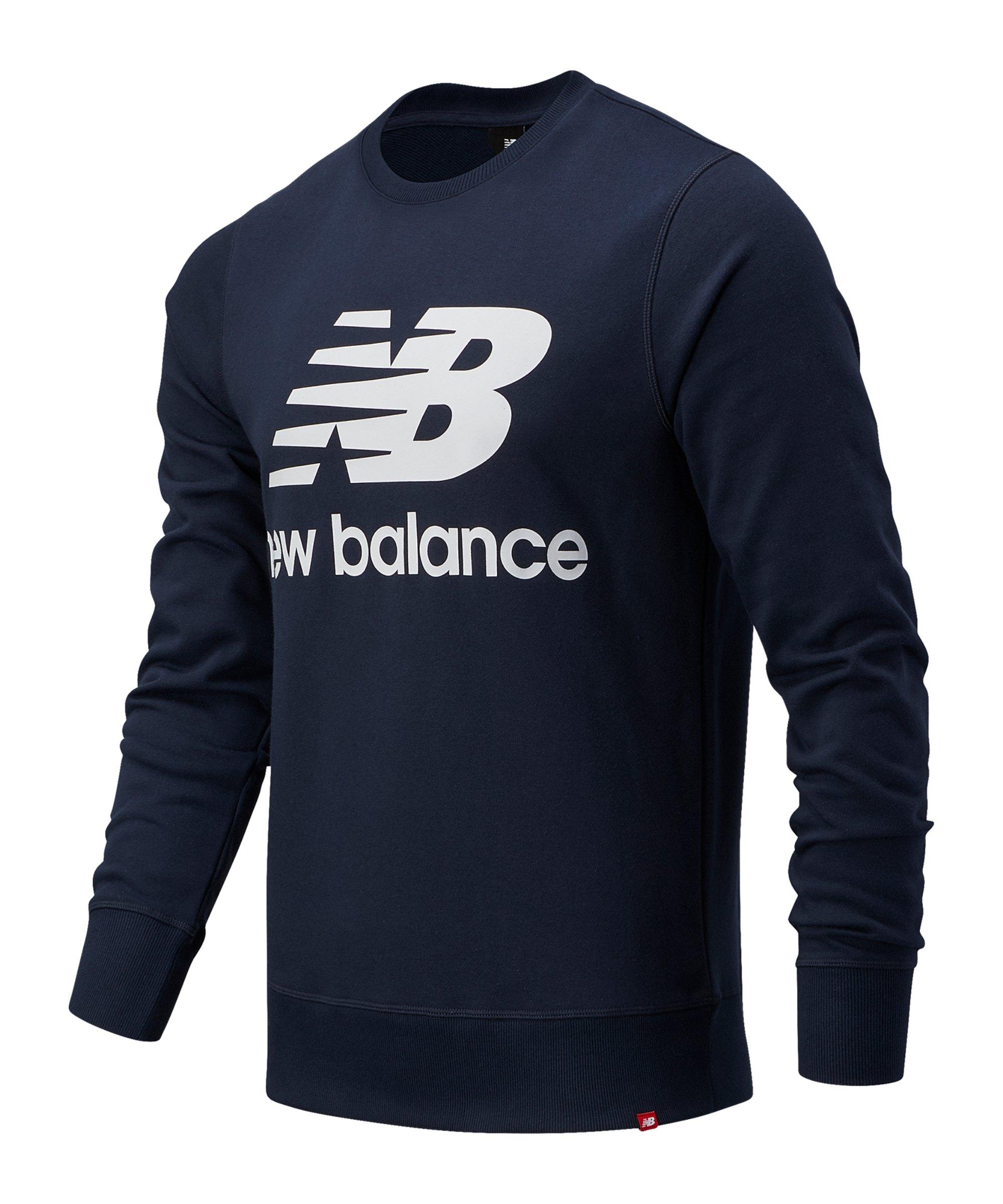 New Balance Essentials Logo Sweatshirt Blau FECL - blau