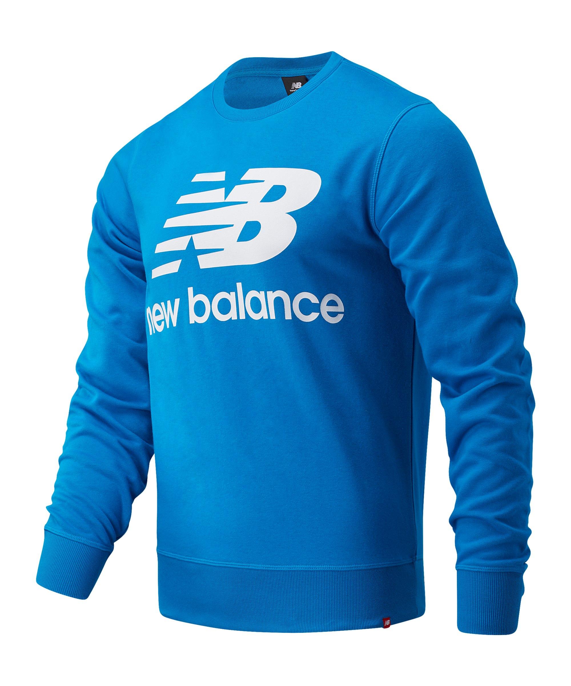 New Balance Essentials Logo Sweatshirt Blau FWAB - blau
